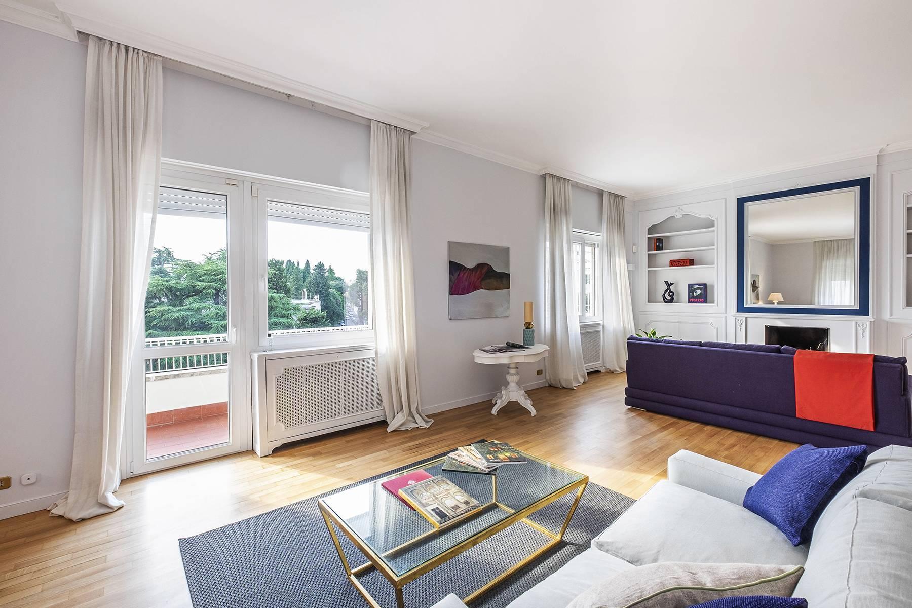 Moderno attico con splendida terrazza di 70 mq  a due passi da Villa Borghese - 14