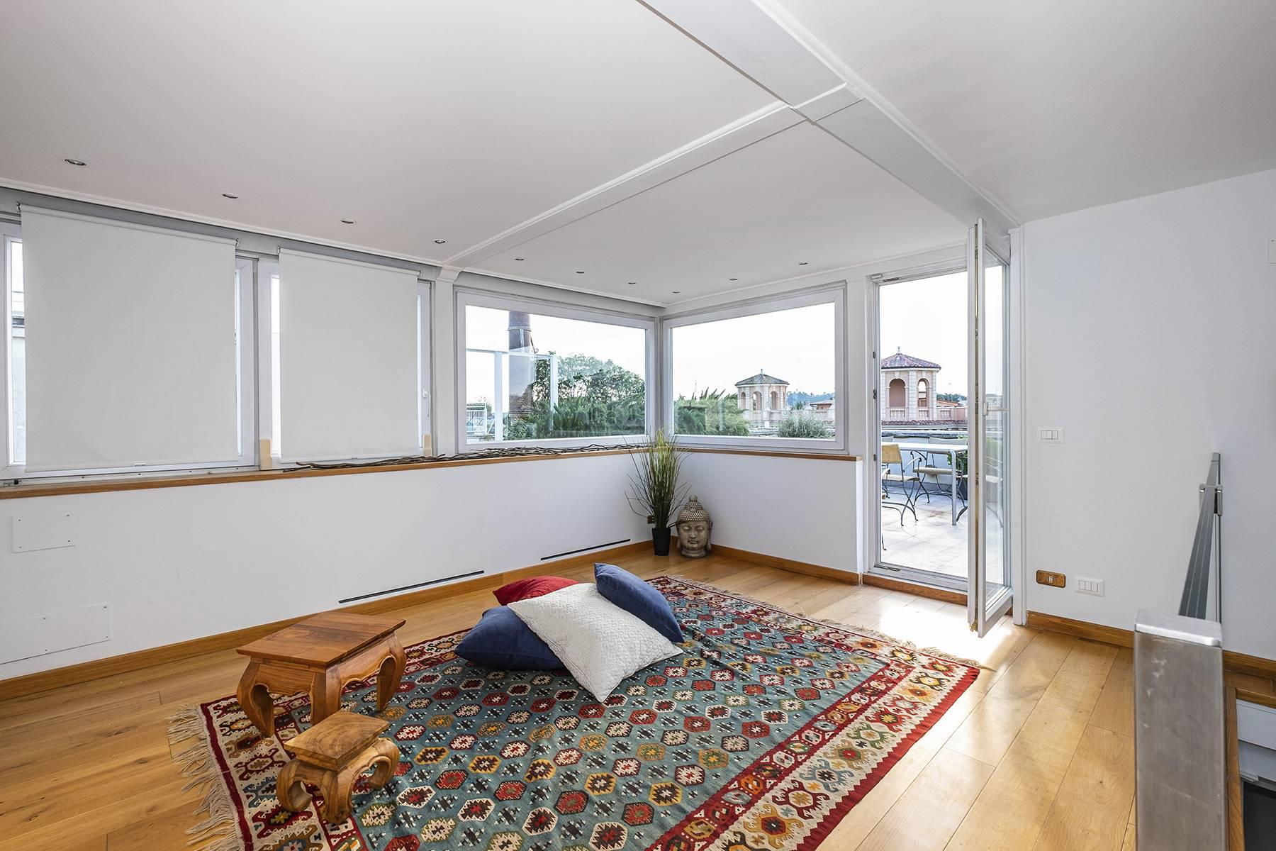 Moderno attico con splendida terrazza di 70 mq  a due passi da Villa Borghese - 17