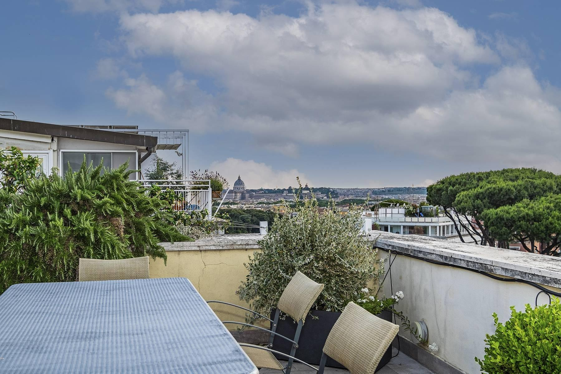 Moderno attico con splendida terrazza di 70 mq  a due passi da Villa Borghese - 31