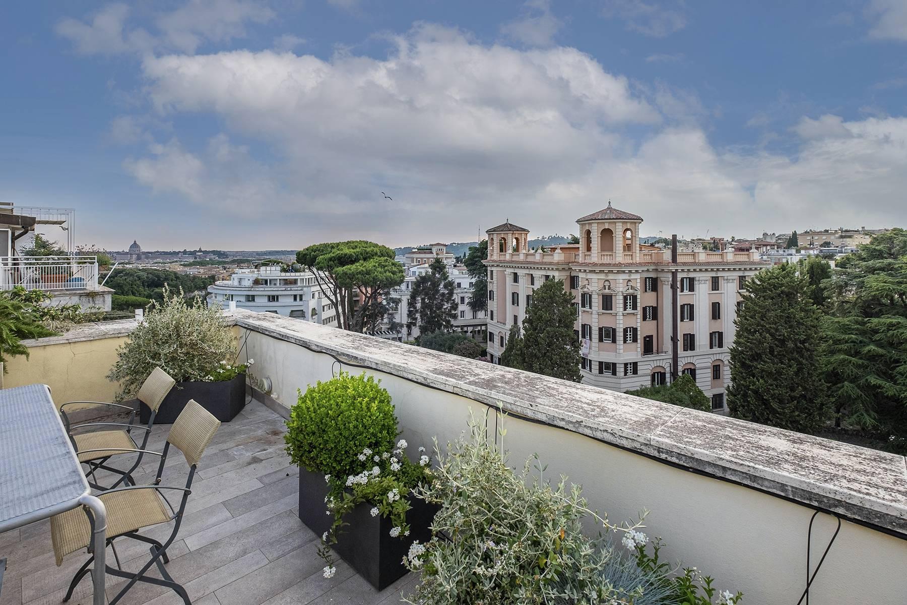 Moderno attico con splendida terrazza di 70 mq  a due passi da Villa Borghese - 32