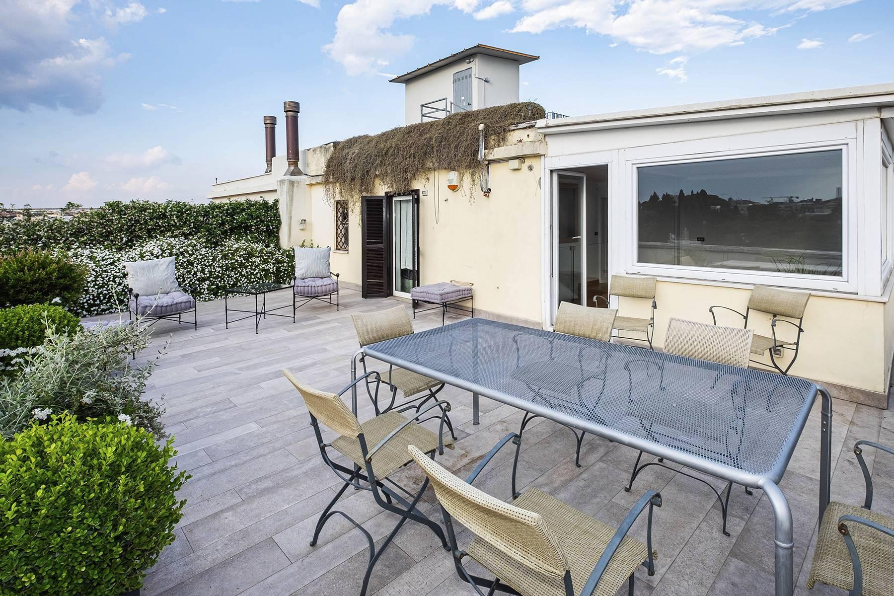Moderno attico con splendida terrazza di 70 mq  a due passi da Villa Borghese - 12