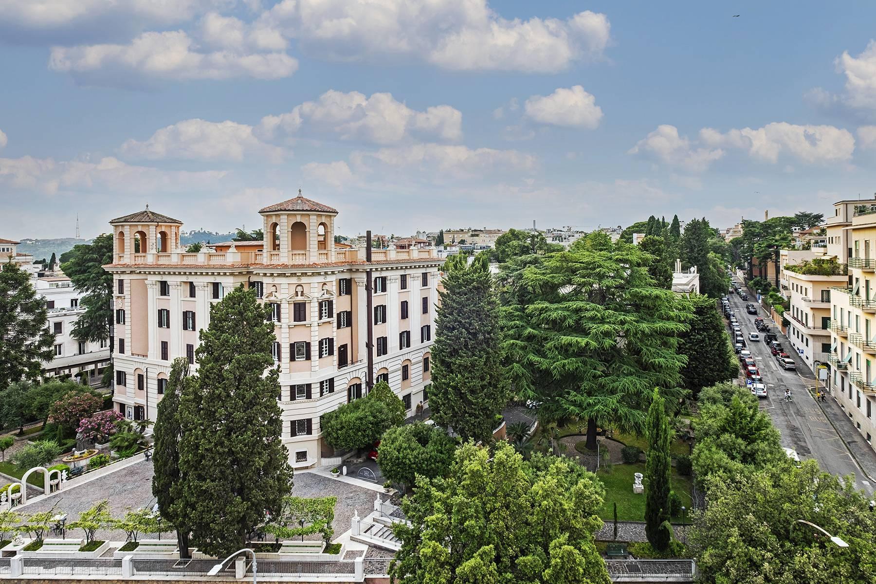 Moderno attico con splendida terrazza di 70 mq  a due passi da Villa Borghese - 33
