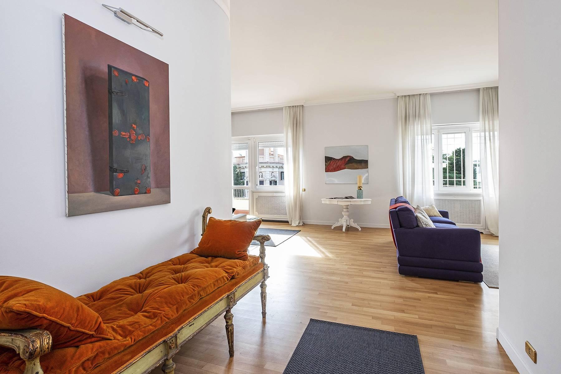 Moderno attico con splendida terrazza di 70 mq  a due passi da Villa Borghese - 4