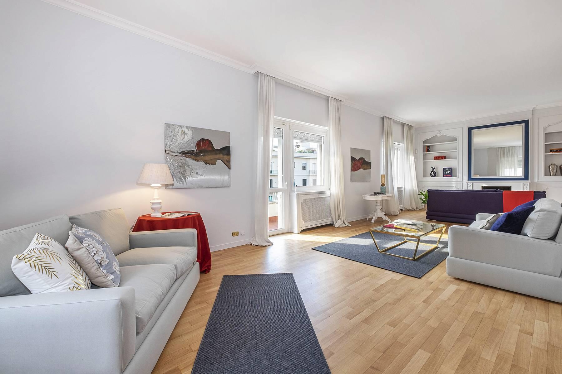 Moderno attico con splendida terrazza di 70 mq  a due passi da Villa Borghese - 2