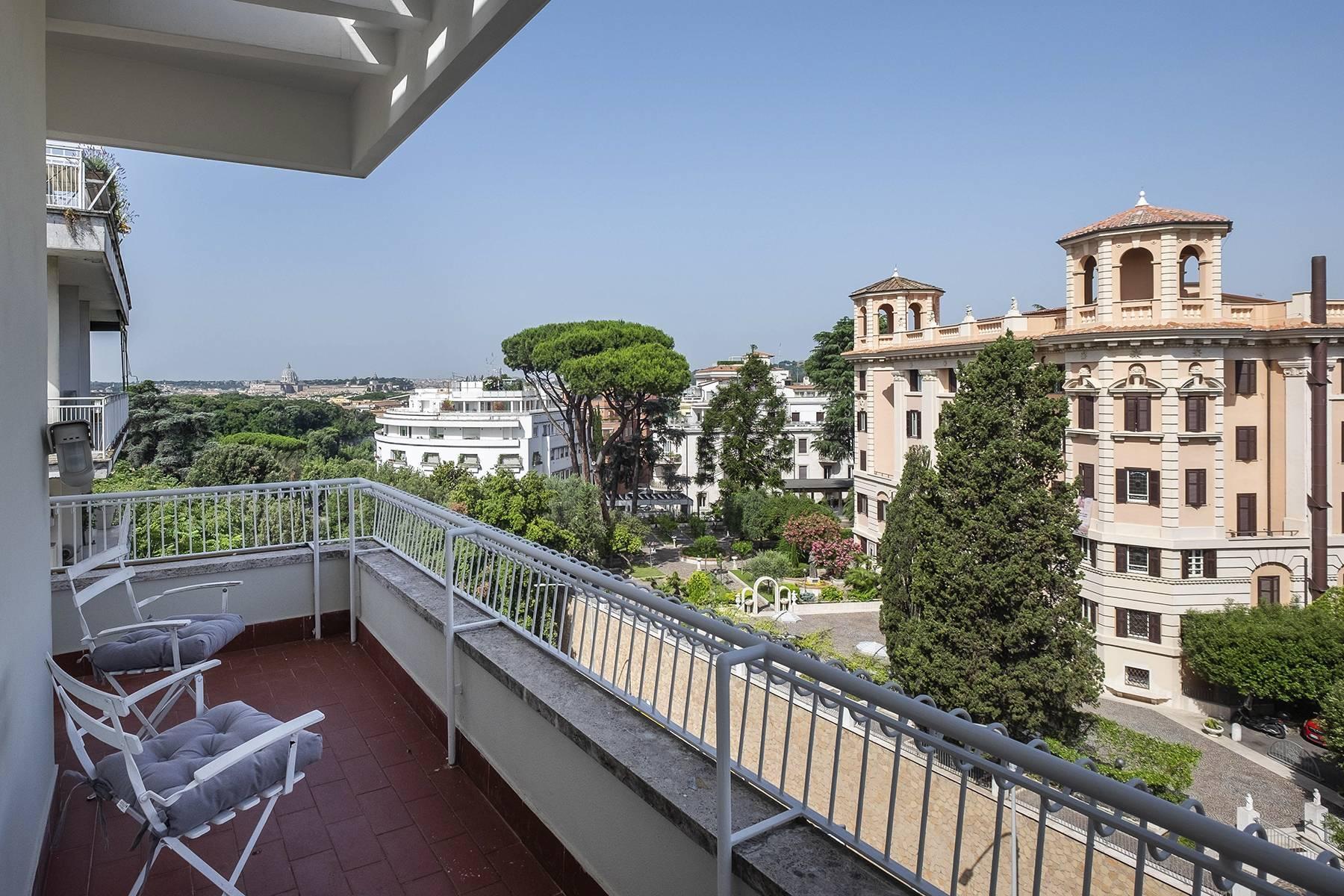 Moderno attico con splendida terrazza di 70 mq  a due passi da Villa Borghese - 34