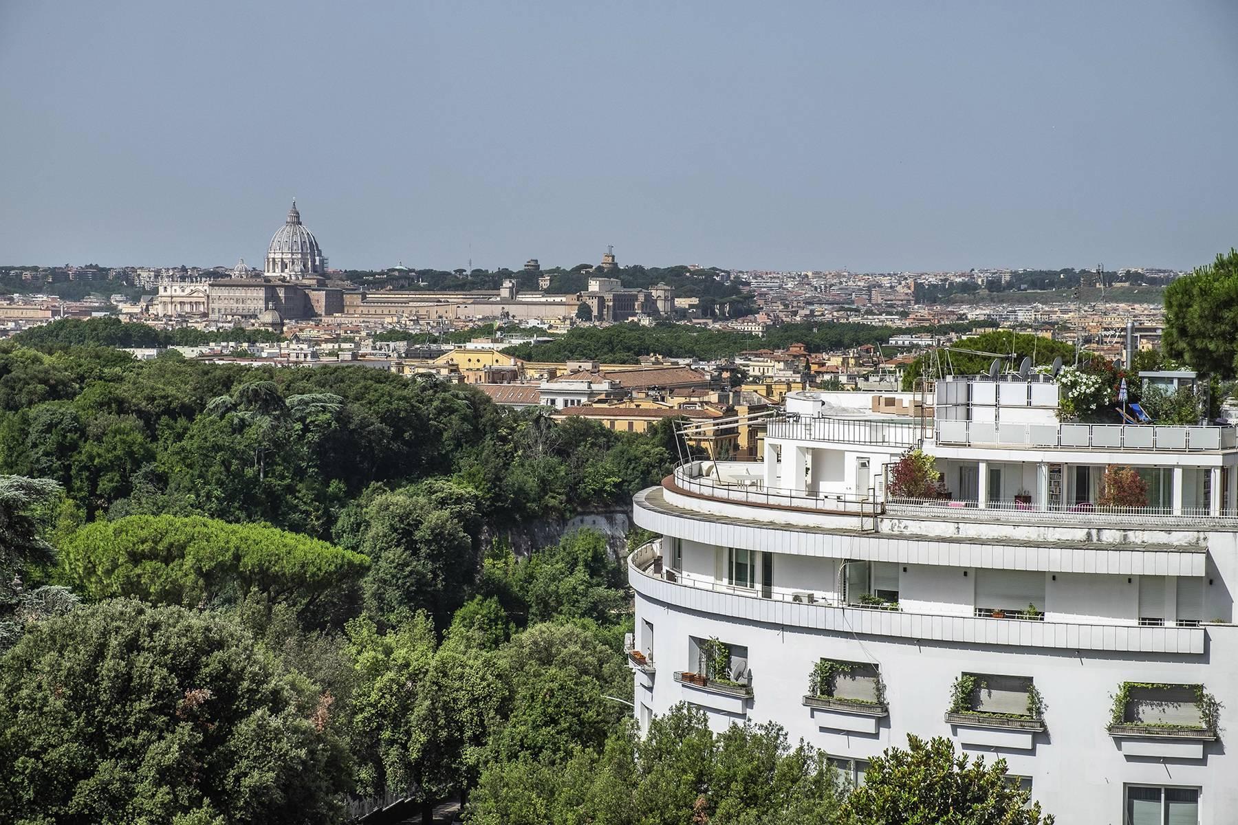 Moderno attico con splendida terrazza di 70 mq  a due passi da Villa Borghese - 36