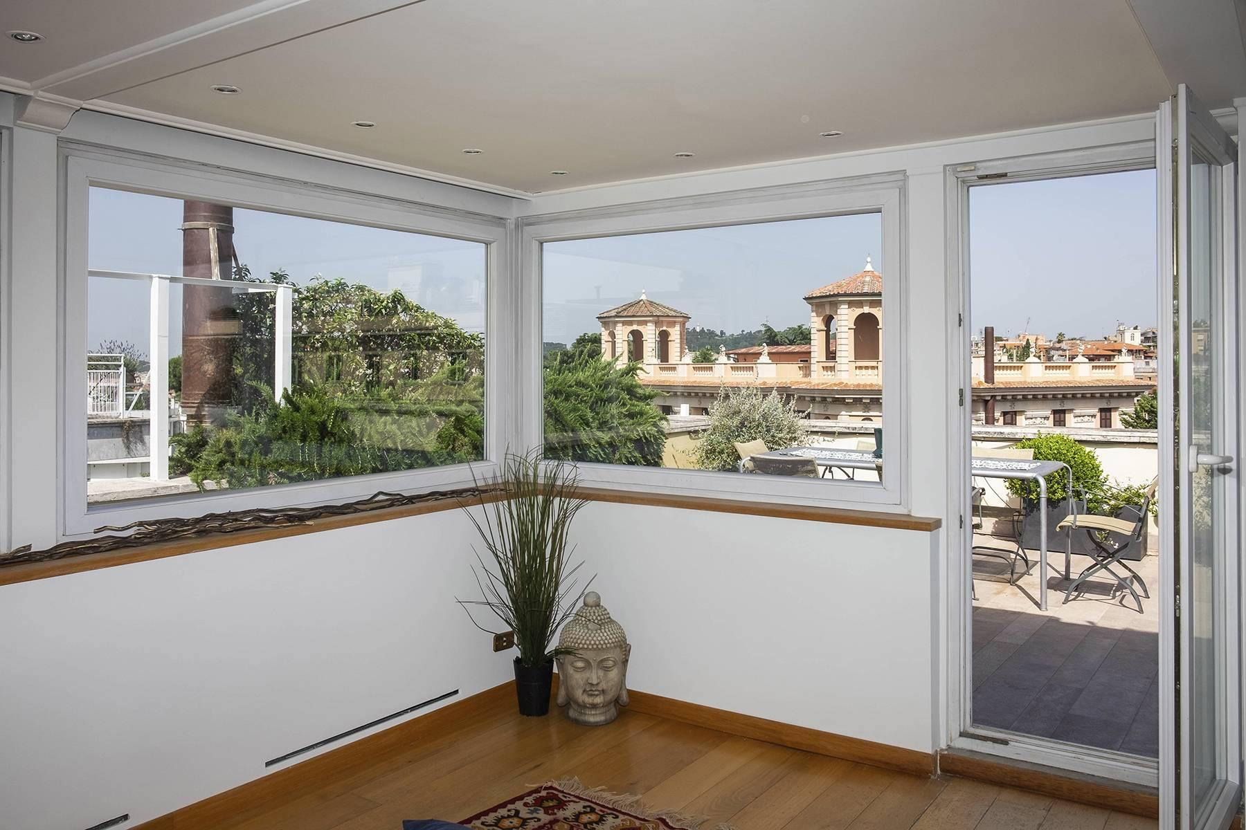 Moderno attico con splendida terrazza di 70 mq  a due passi da Villa Borghese - 29
