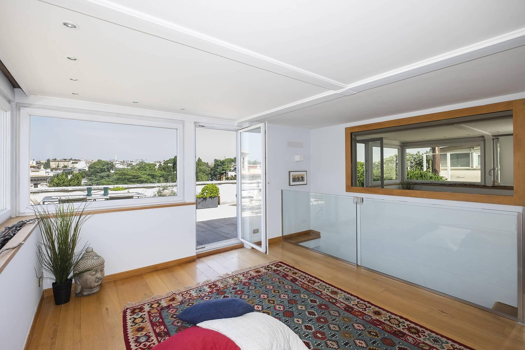 Moderno attico con splendida terrazza di 70 mq  a due passi da Villa Borghese - 30