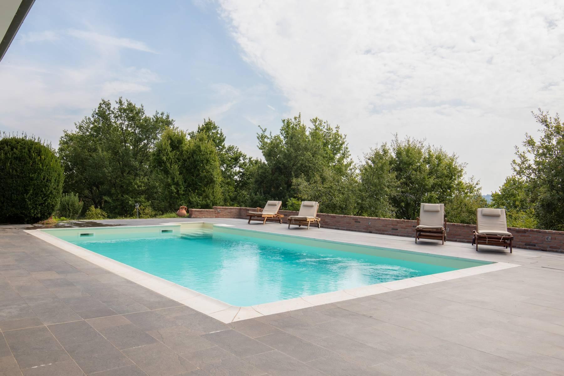 Villa con piscina nelle colline piacentine - 41