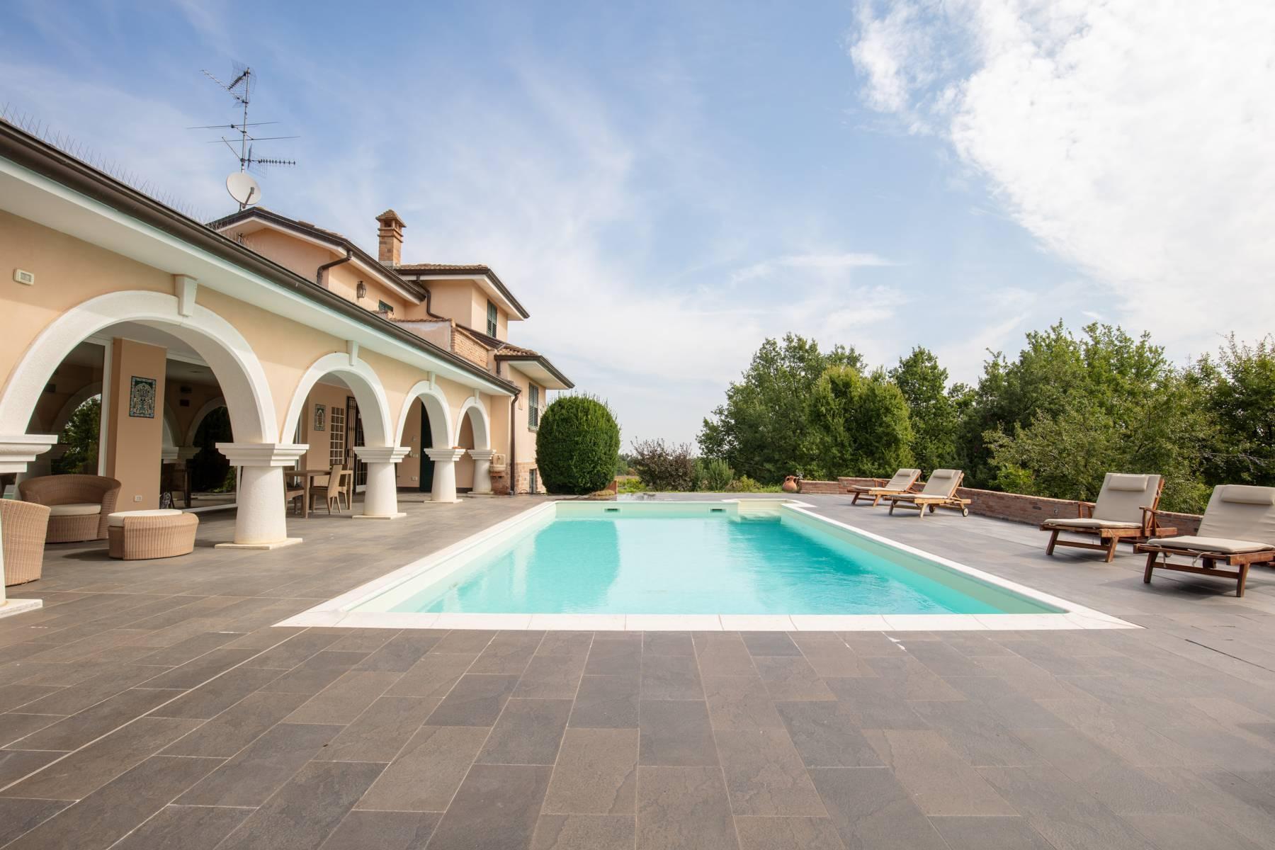 Villa con piscina nelle colline piacentine - 3
