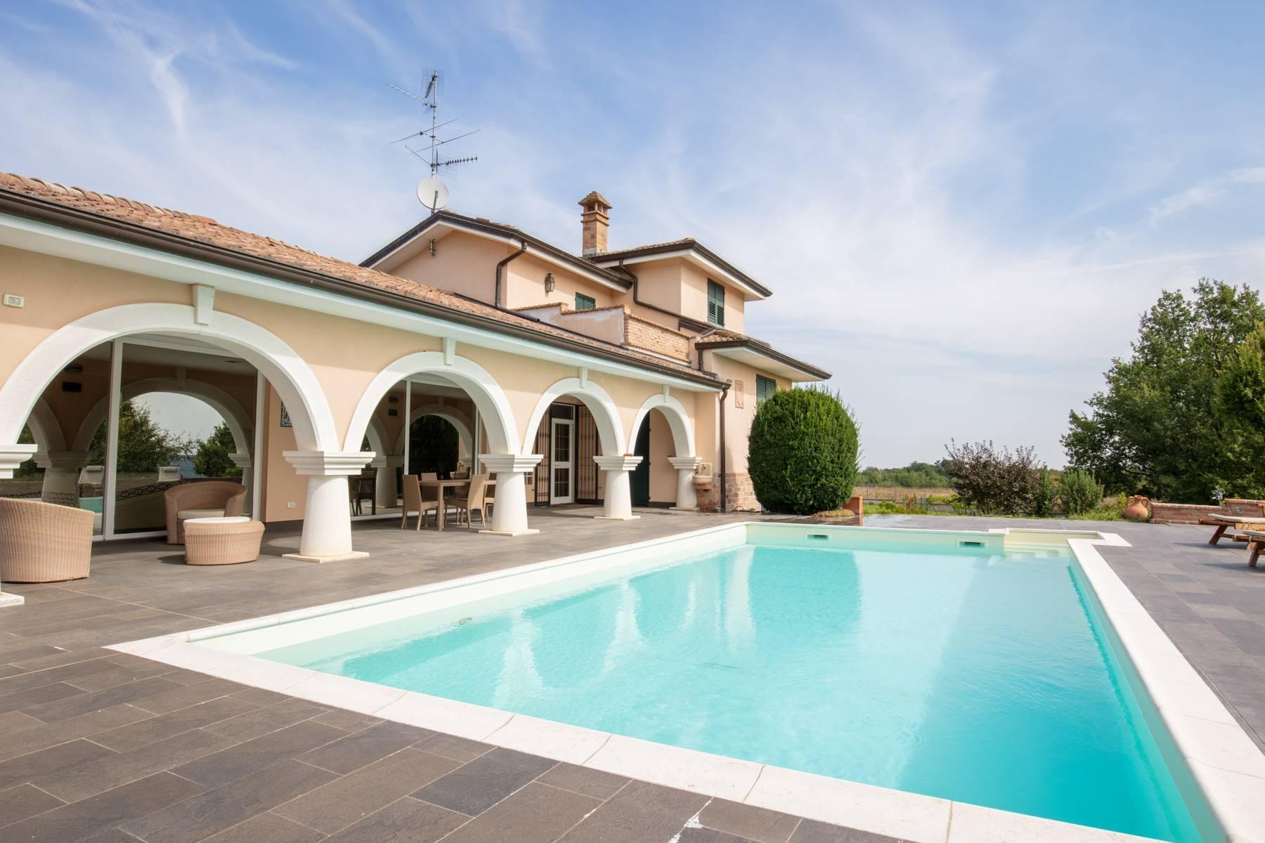 Villa con piscina nelle colline piacentine - 44