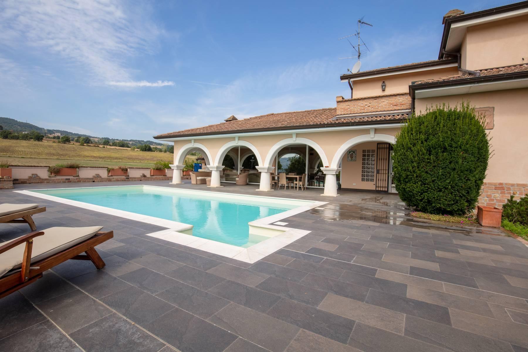 Villa con piscina nelle colline piacentine - 46