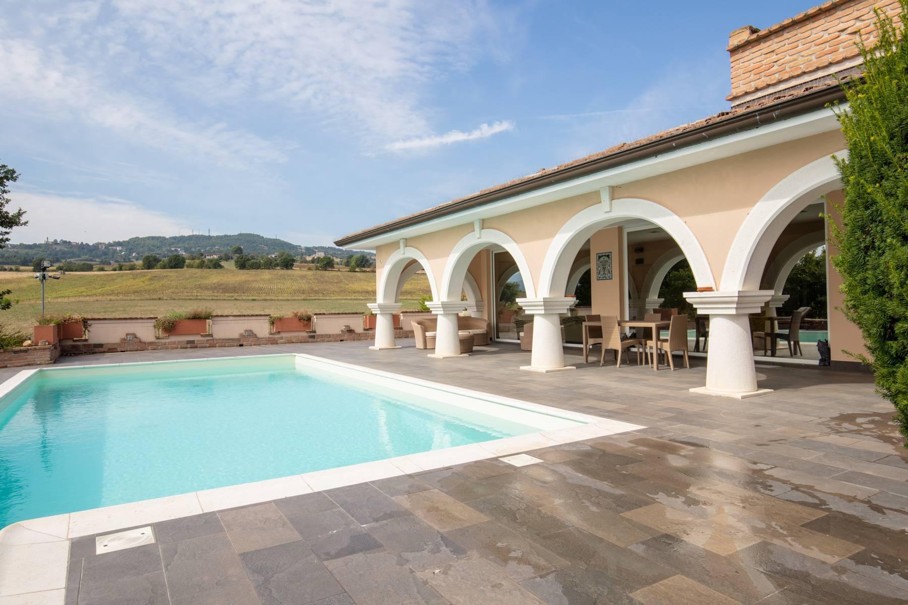 Villa con piscina nelle colline piacentine - 48