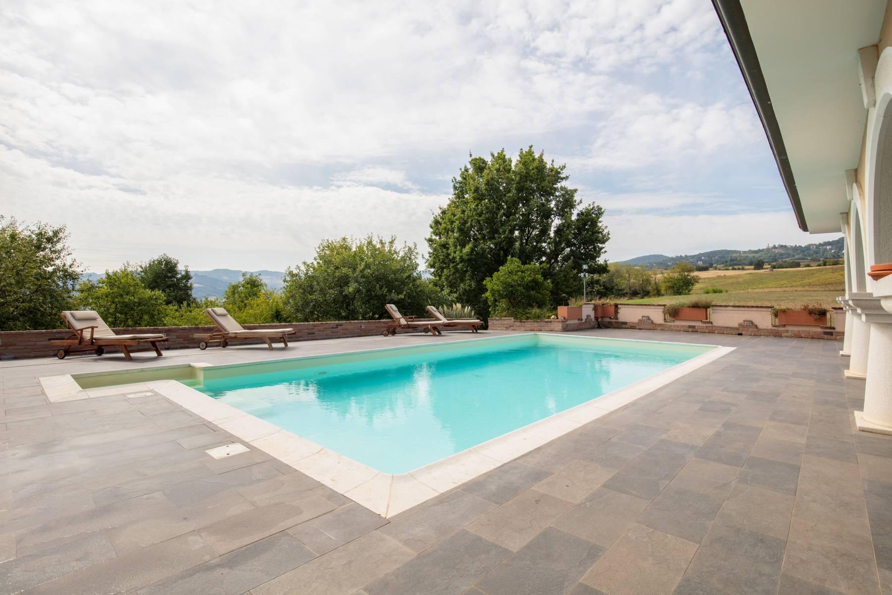 Villa con piscina nelle colline piacentine - 4