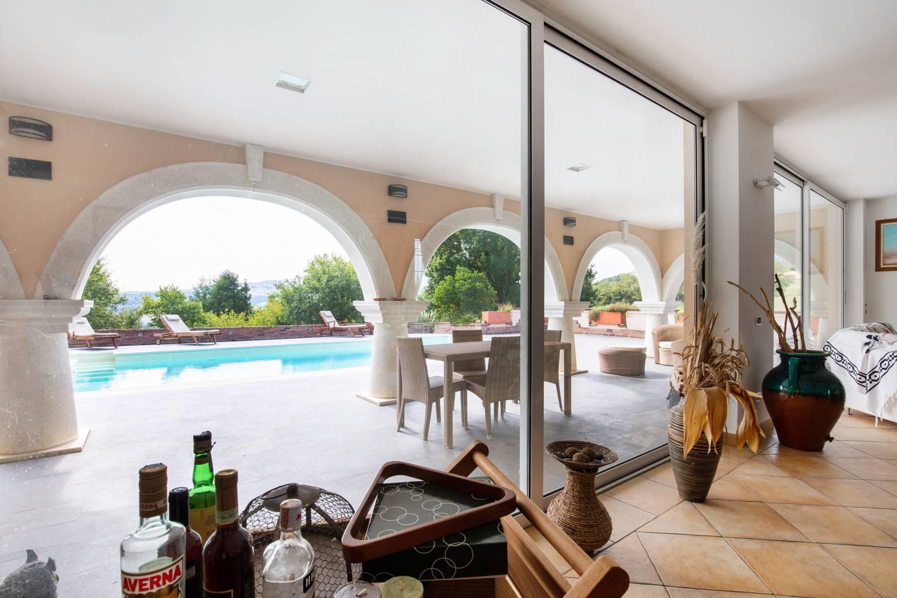 Villa con piscina nelle colline piacentine - 5