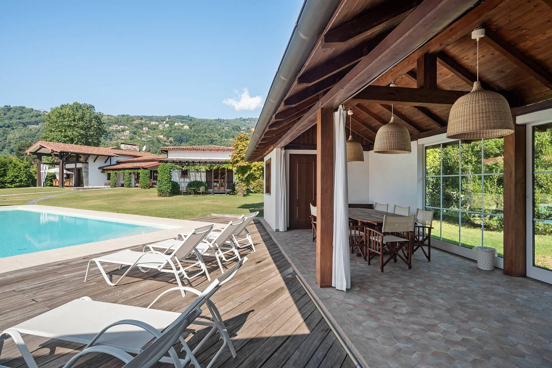 Charmante Villa in Lesa, mitten in der Natur - 13