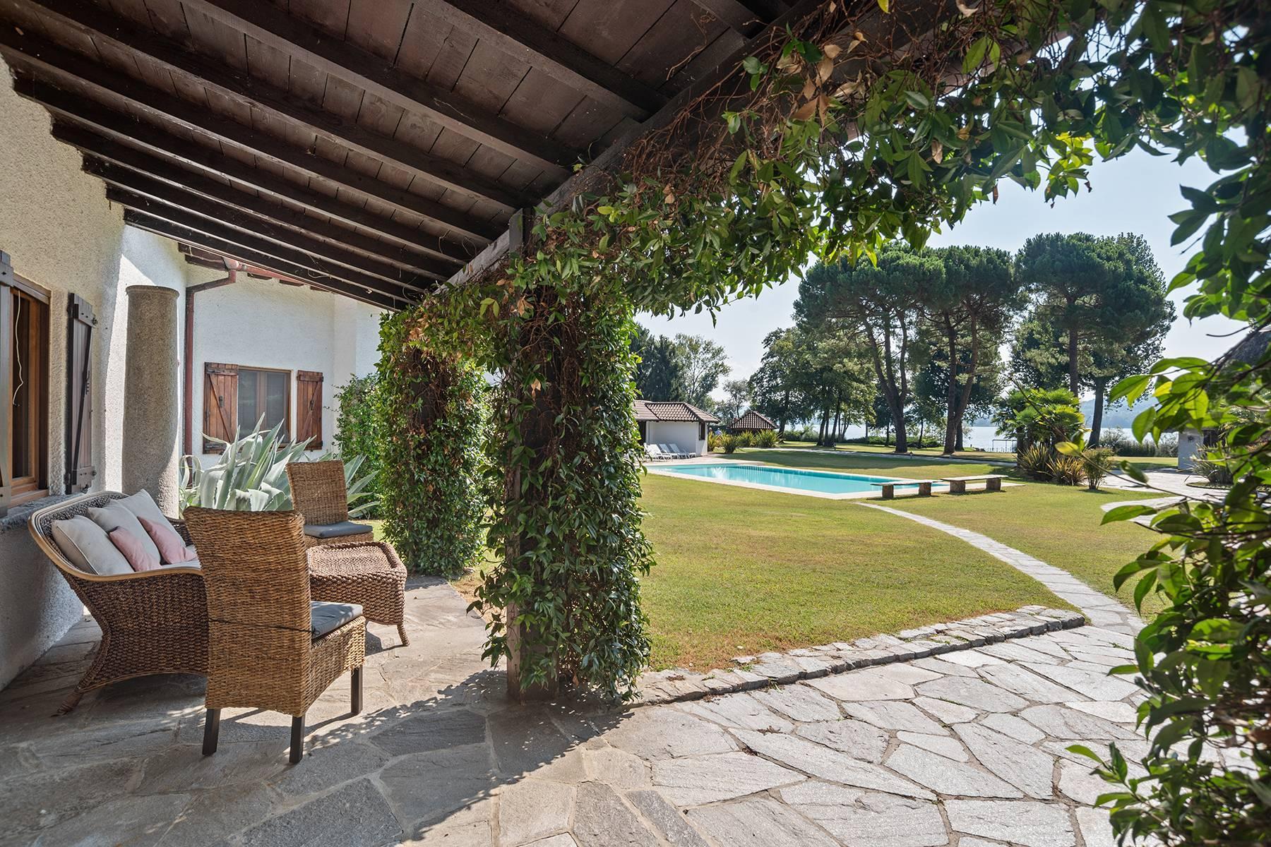 Charmante Villa in Lesa, mitten in der Natur - 16