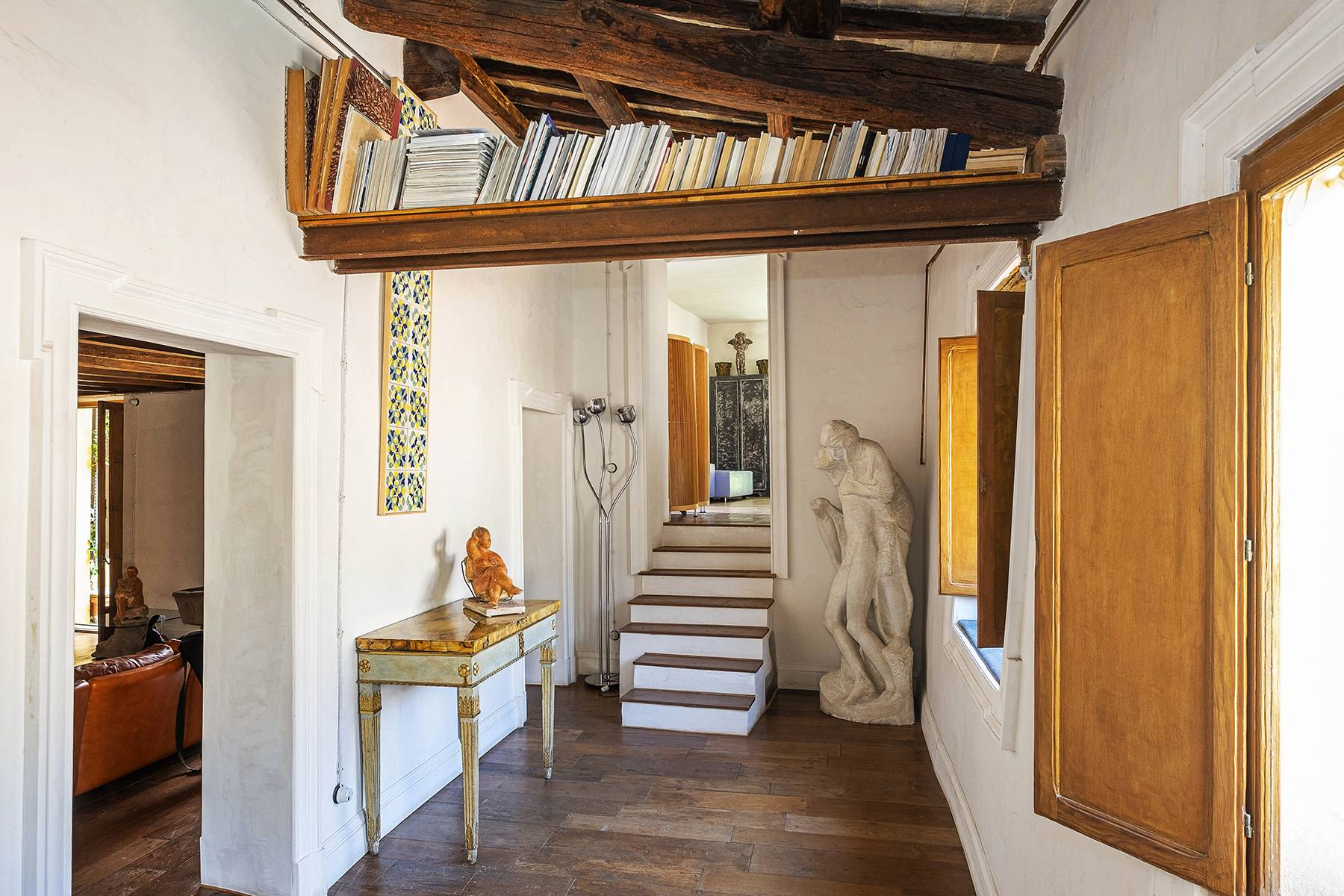 Splendido attico ristrutturato con giardini pensili panoramici - 11