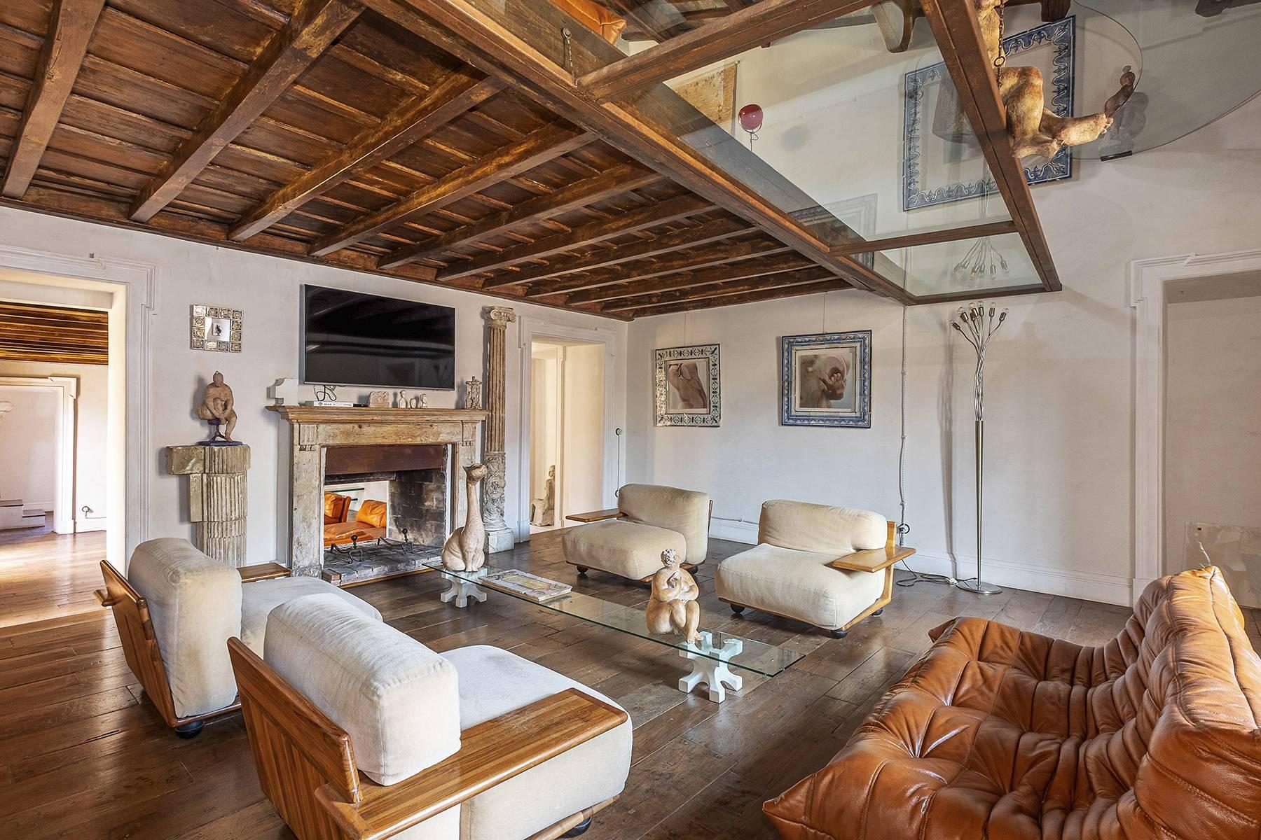 Splendido attico ristrutturato con giardini pensili panoramici - 16