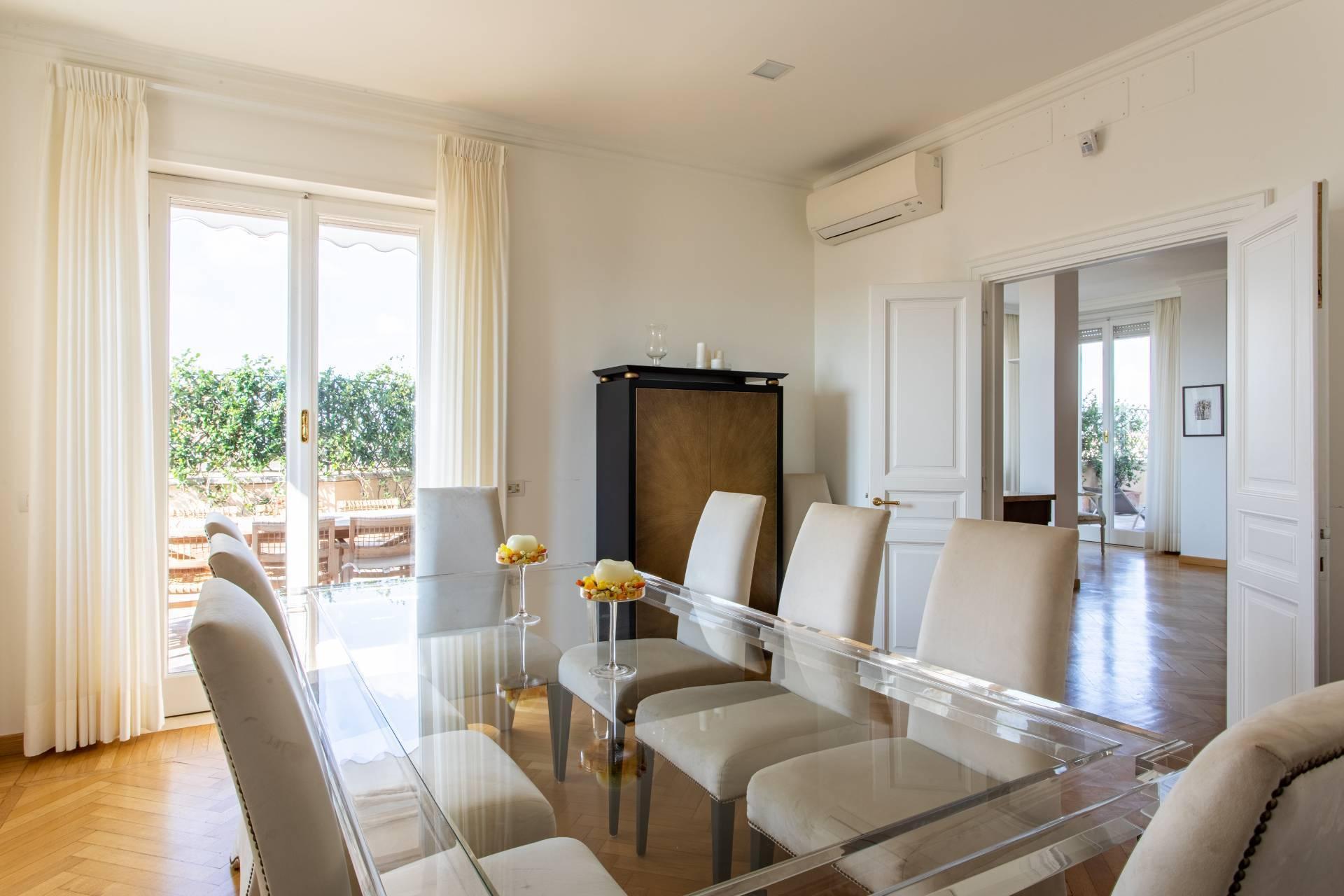 Elegante Penthouse im Stadtzentrum Roms - 3