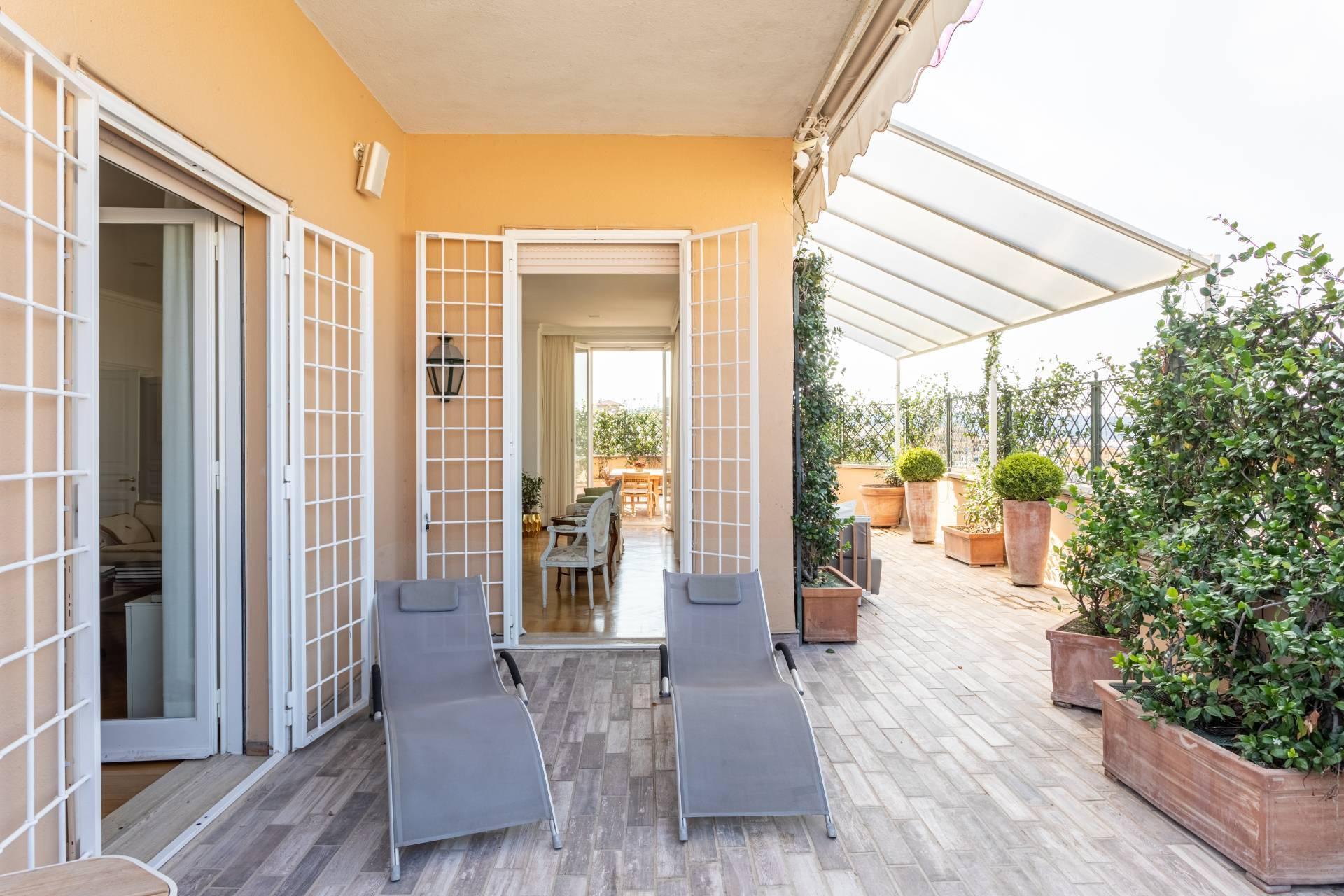 Elegante Penthouse im Stadtzentrum Roms - 8