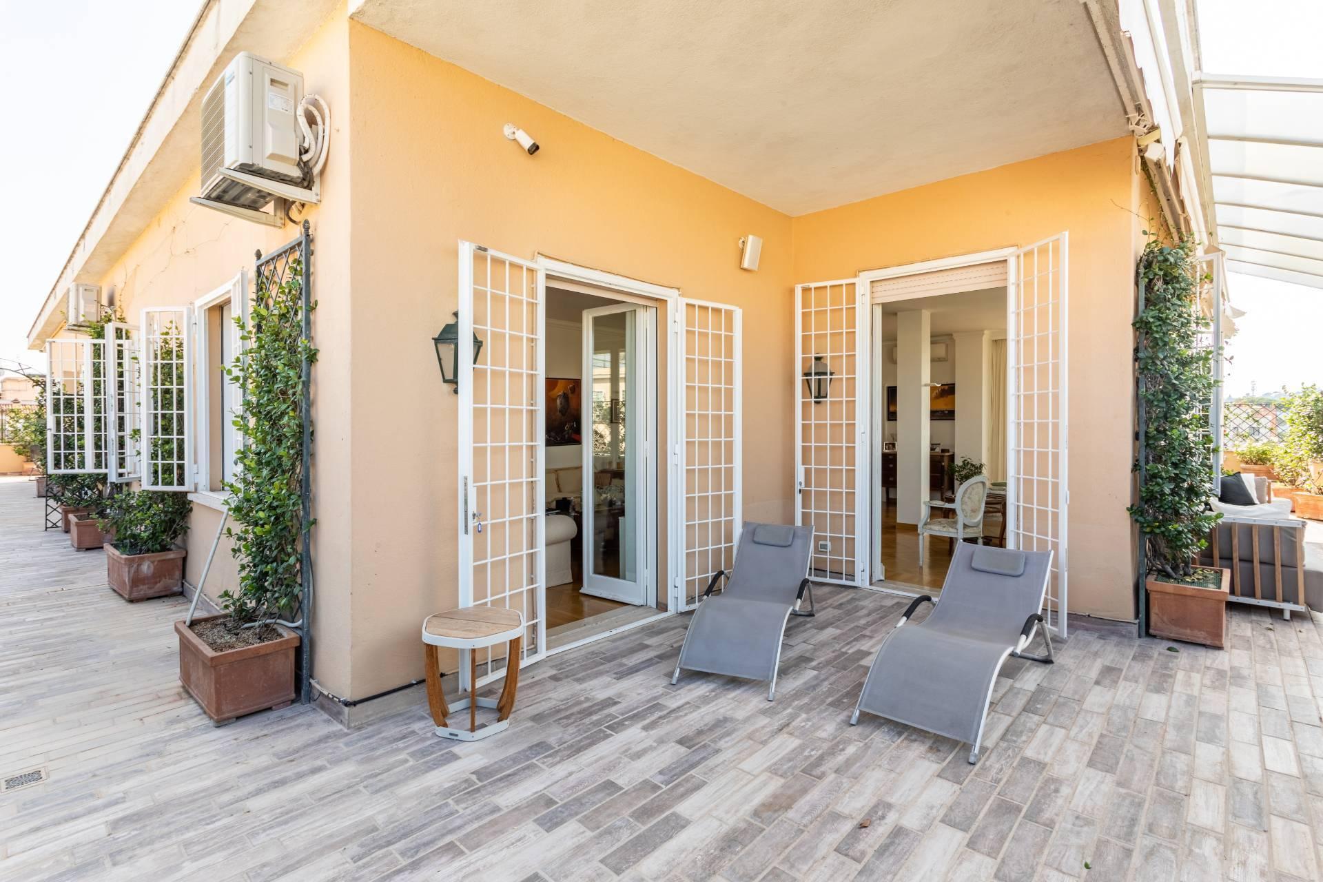 Elegante Penthouse im Stadtzentrum Roms - 10