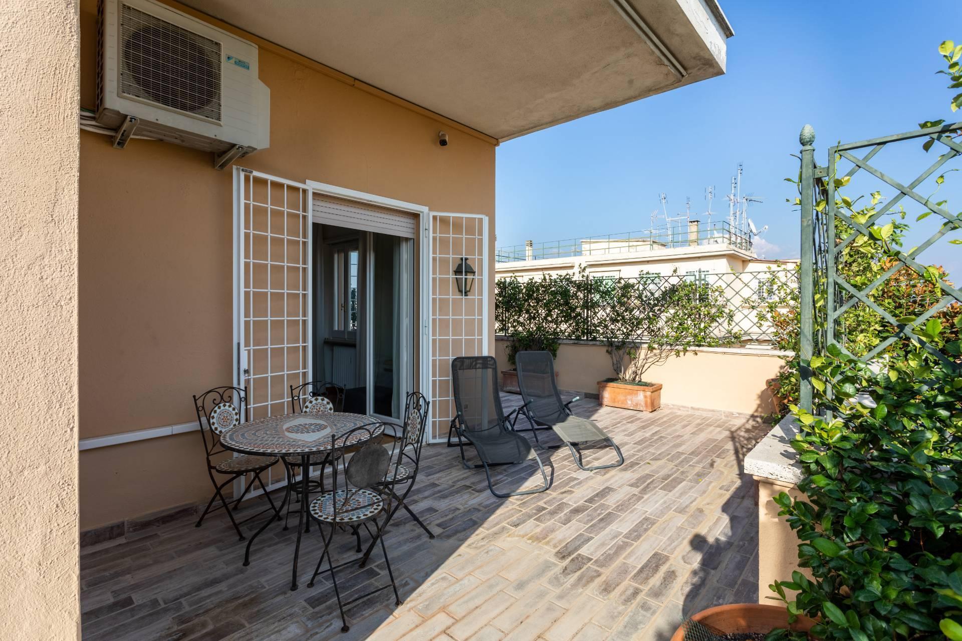 Elegante Penthouse im Stadtzentrum Roms - 22