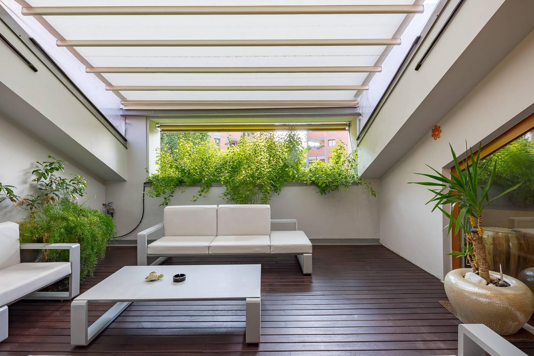Herrliche 500 sqm Penthouse auf dem Piazza Mondadori - 2