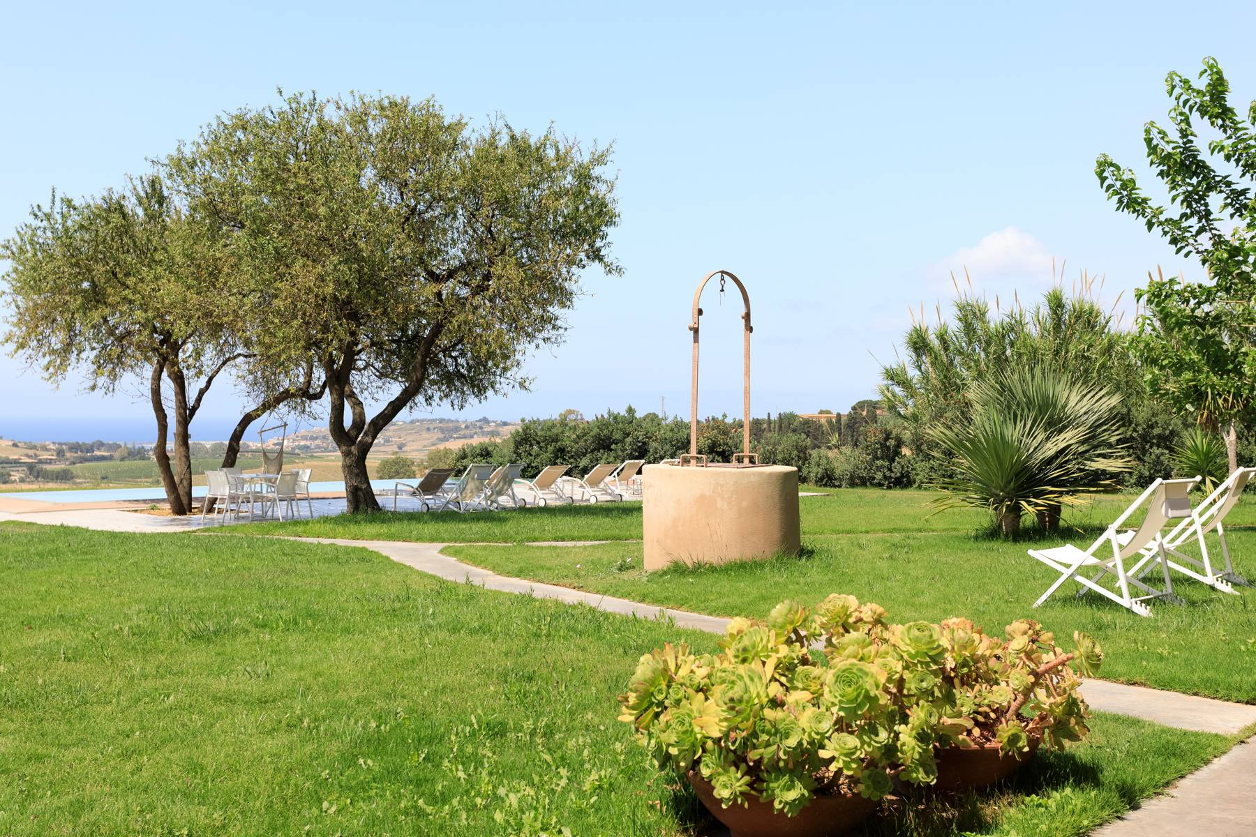 Elegant Sea View Farmhouse surrounded by olive trees in Menfi - 5