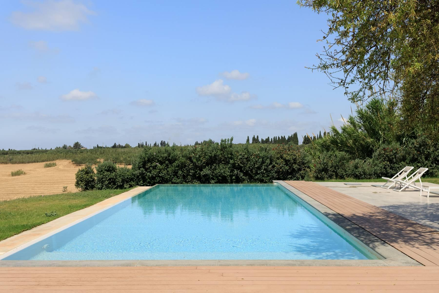 Elegant Sea View Farmhouse surrounded by olive trees in Menfi - 11