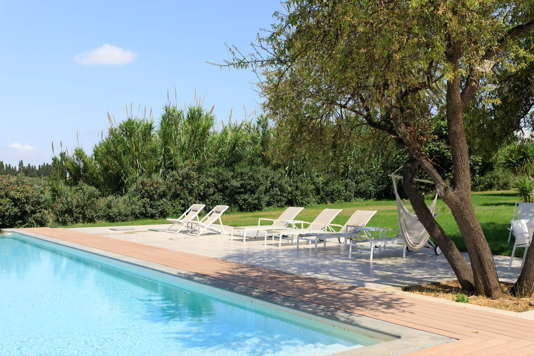 Elegant Sea View Farmhouse surrounded by olive trees in Menfi - 3