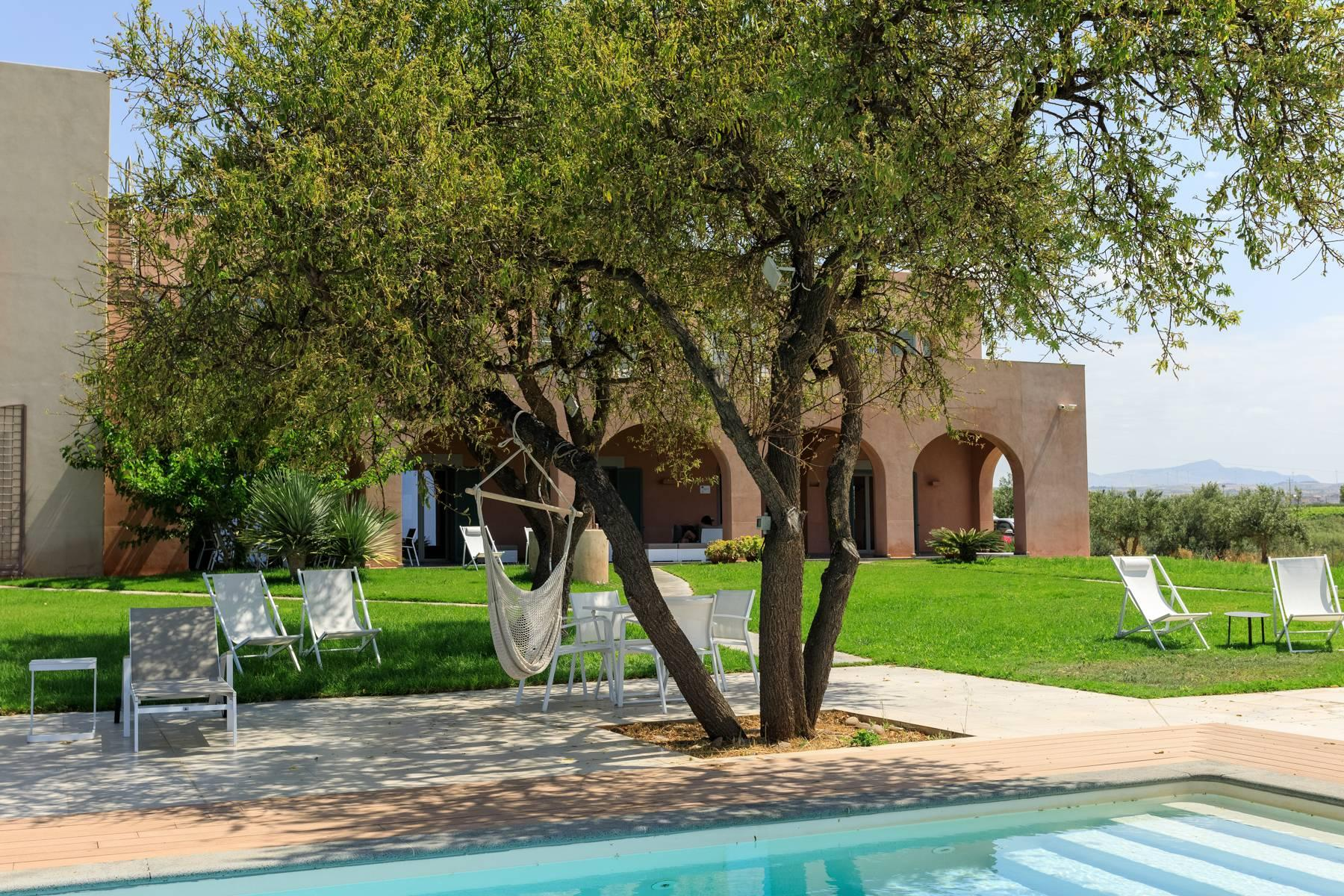 Elegant Sea View Farmhouse surrounded by olive trees in Menfi - 9