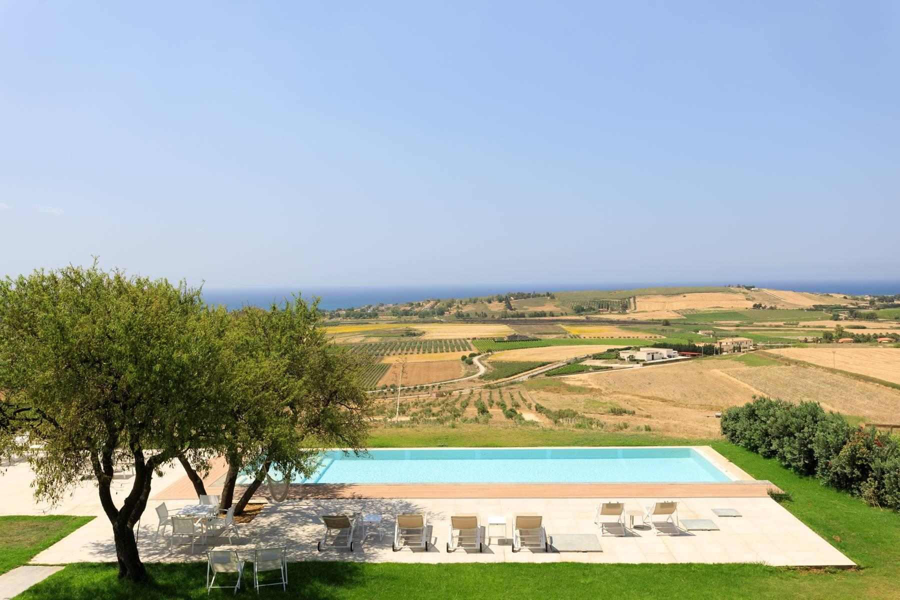 Elegant Sea View Farmhouse surrounded by olive trees in Menfi - 16