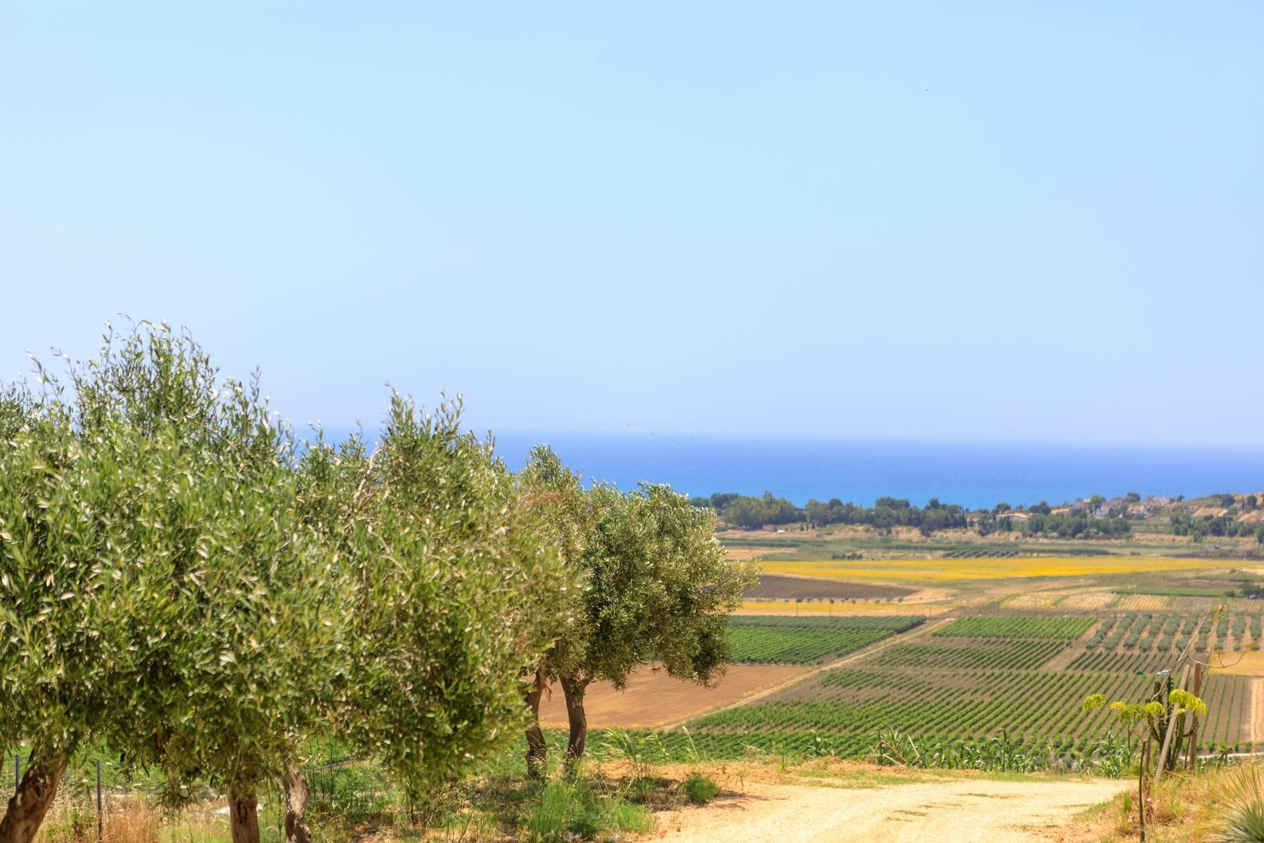 Elegant Sea View Farmhouse surrounded by olive trees in Menfi - 24