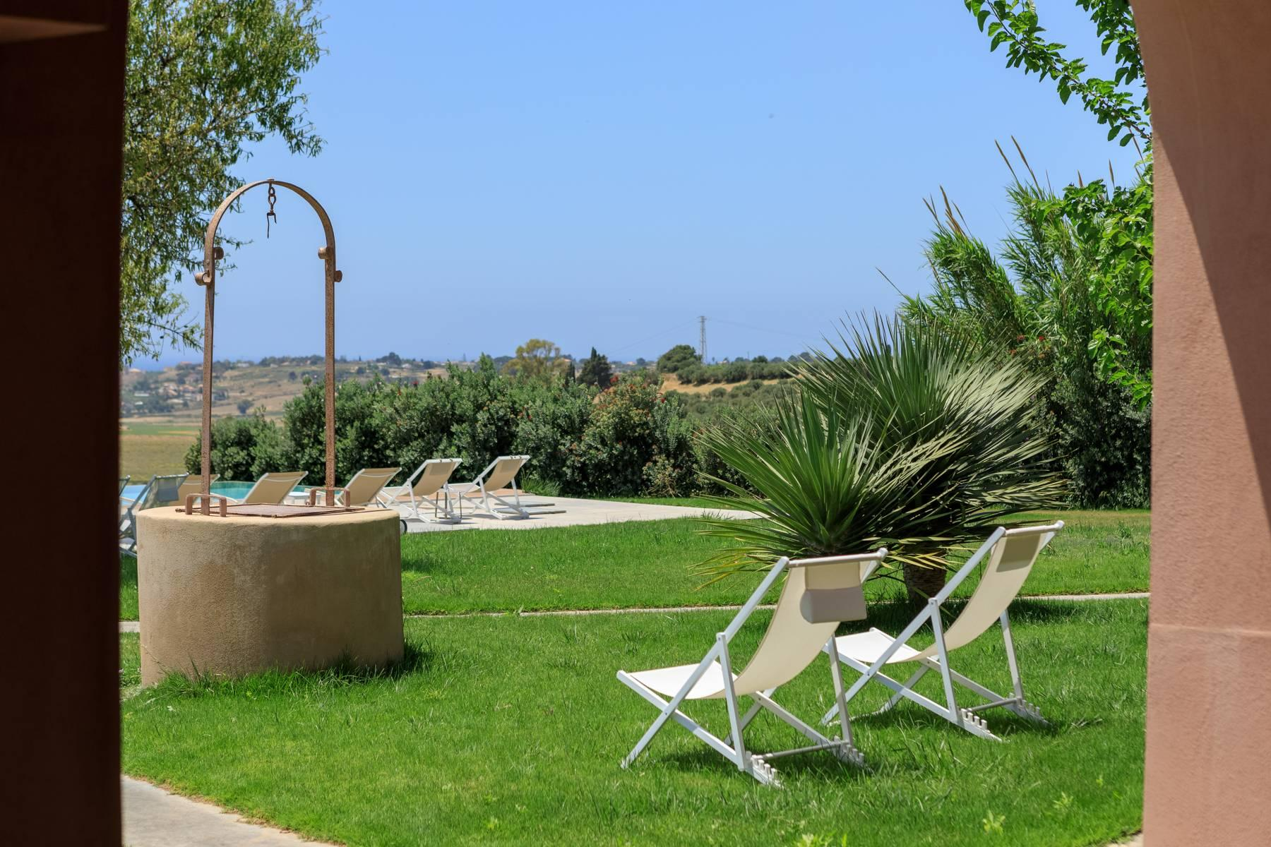 Elegant Sea View Farmhouse surrounded by olive trees in Menfi - 28