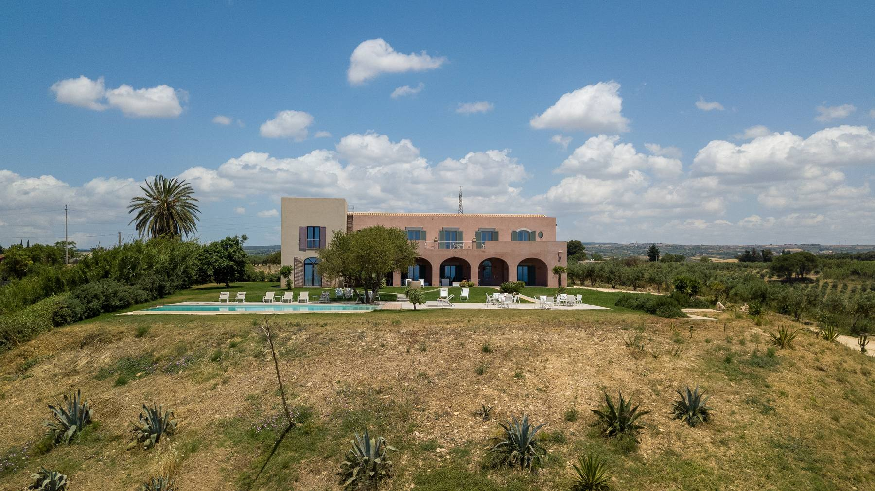 Elegant Sea View Farmhouse surrounded by olive trees in Menfi - 10