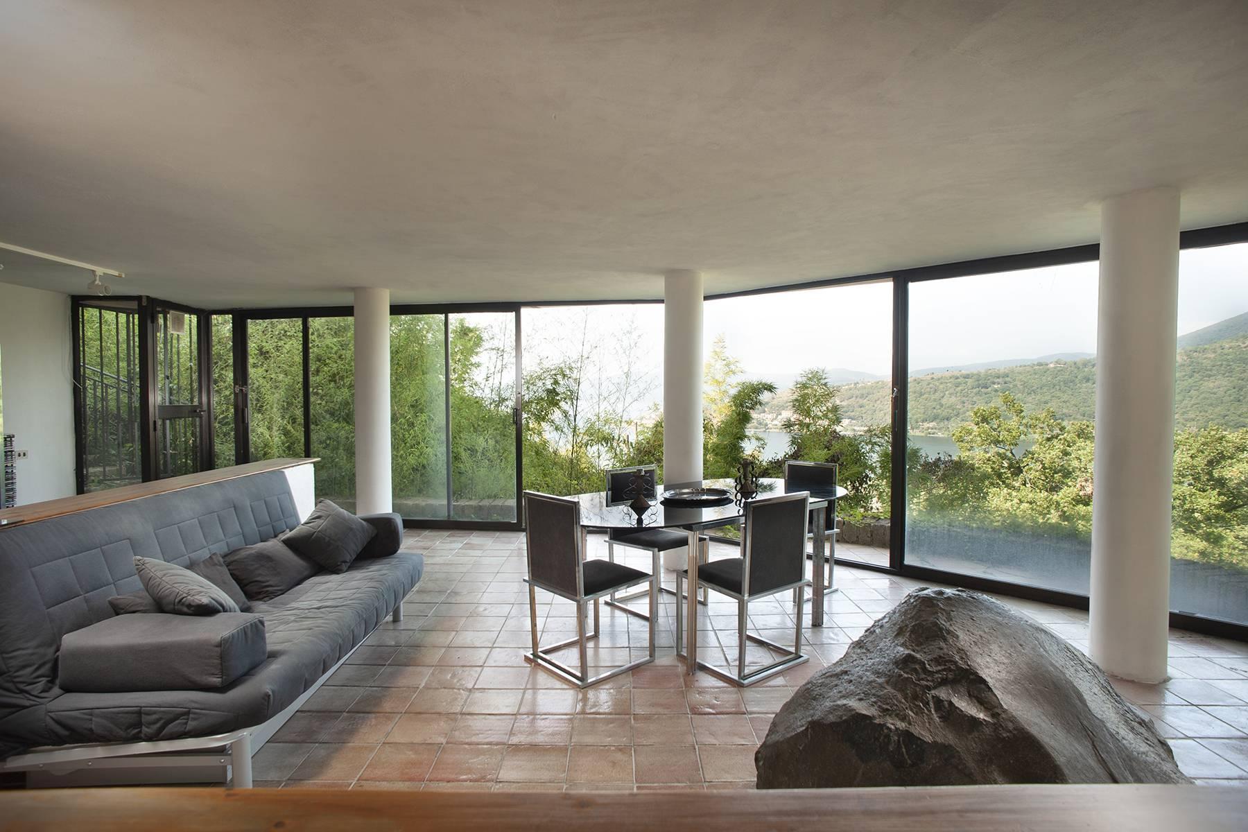 Moderna villa panoramica sul lago di Trevignano - 6