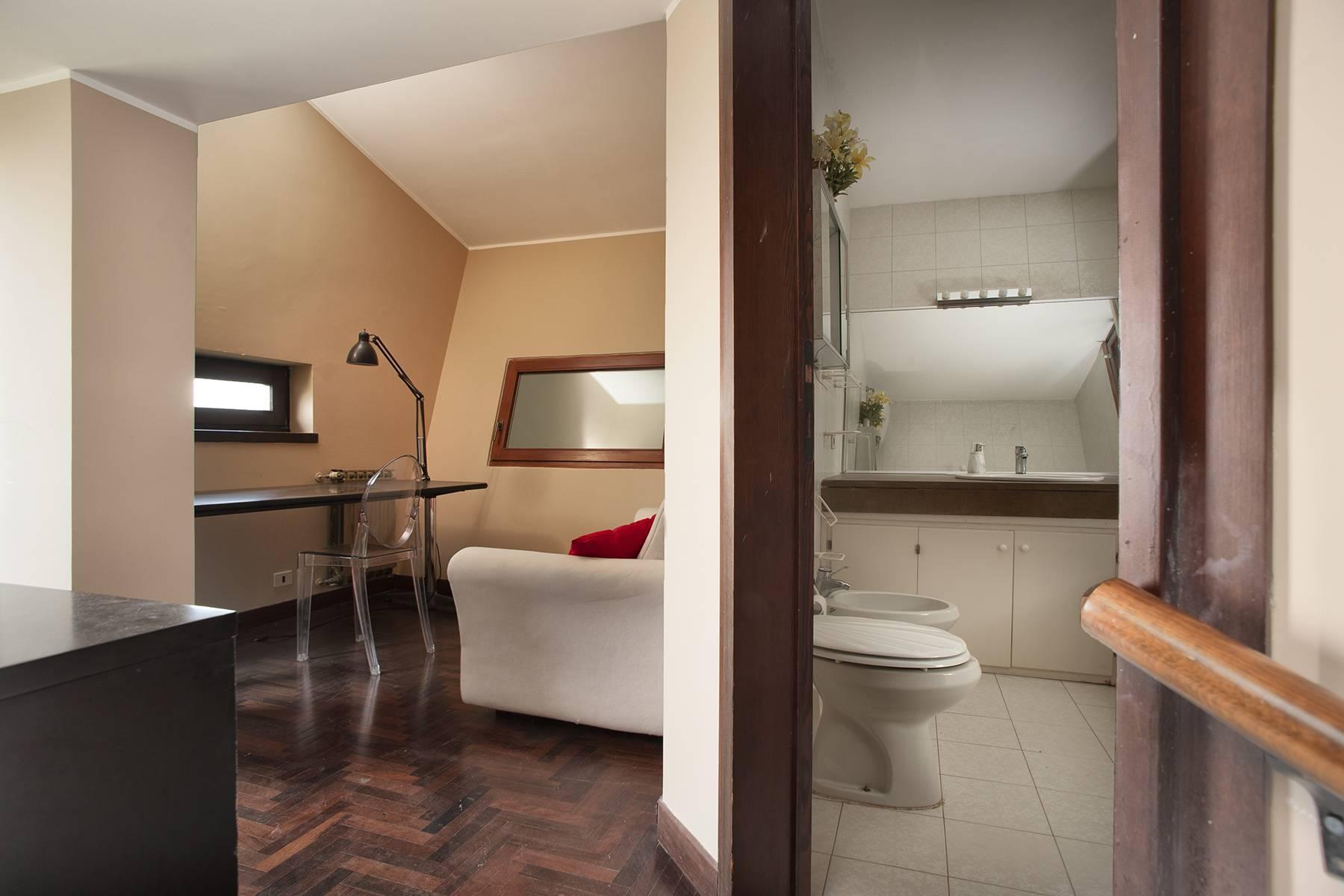 Moderna villa panoramica sul lago di Trevignano - 14