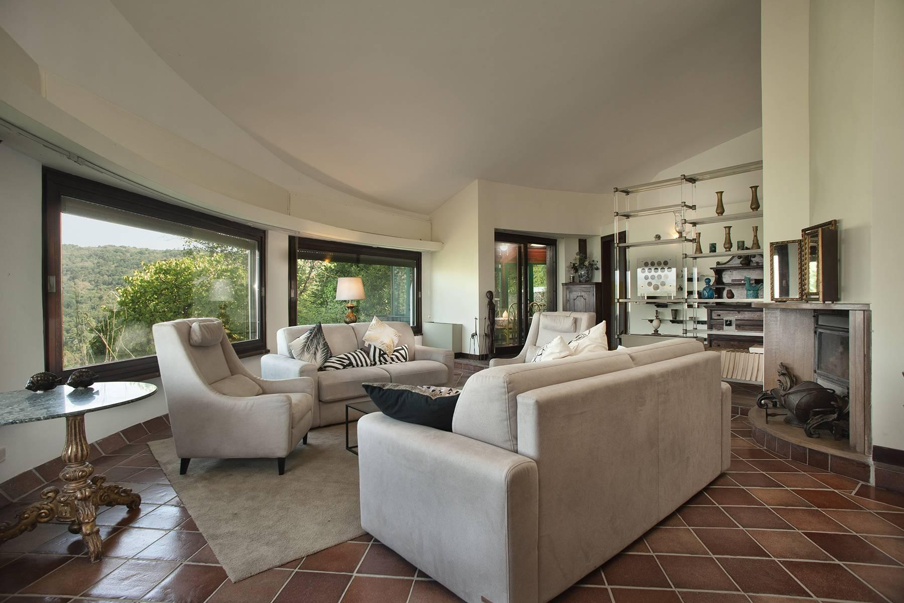 Moderne Villa mit Panorama Blick am Trevigiano See - 1