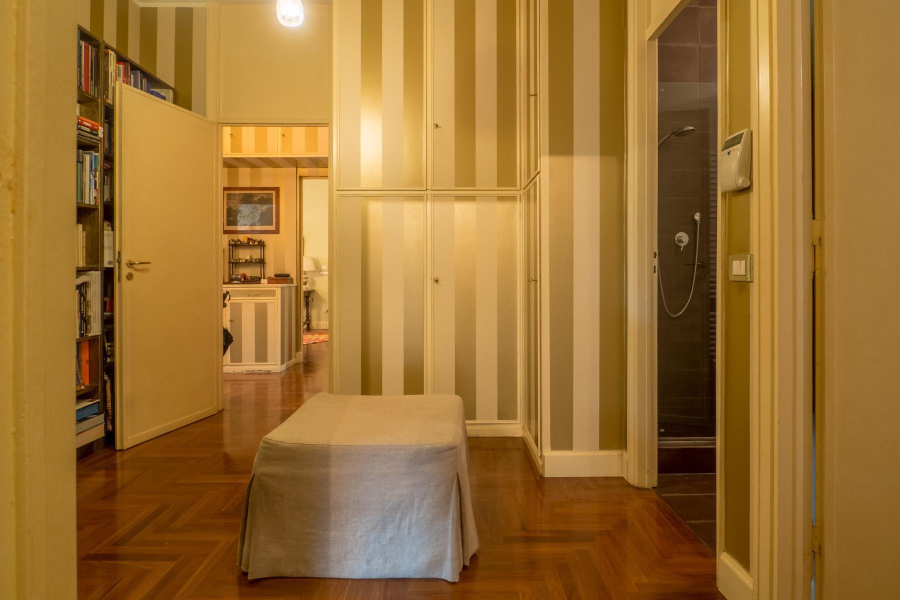 Elegante appartamento con terrazzo ai piedi della collina torinese - 16