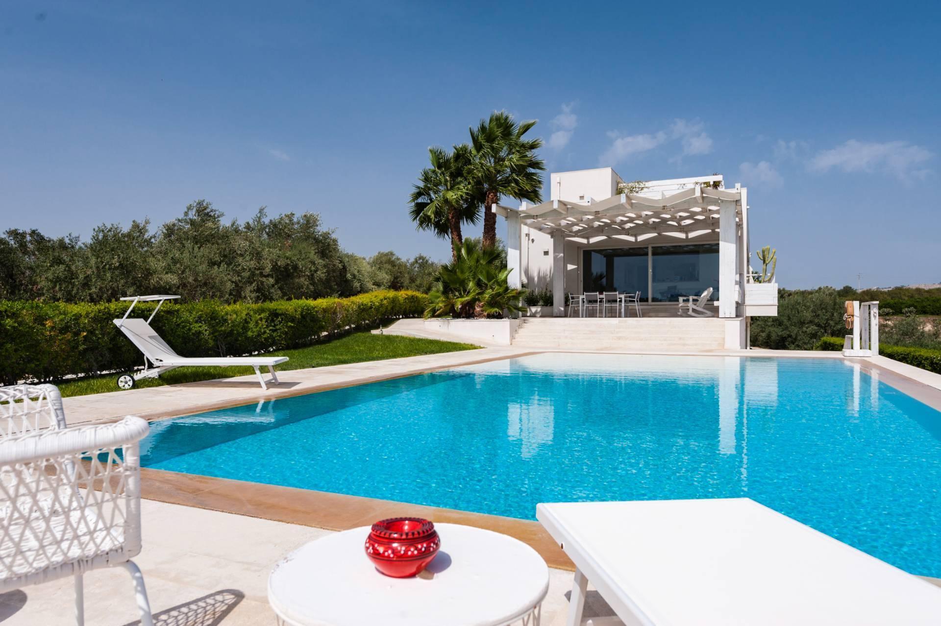 Villa prestigiosa con piscina vista mare - 1