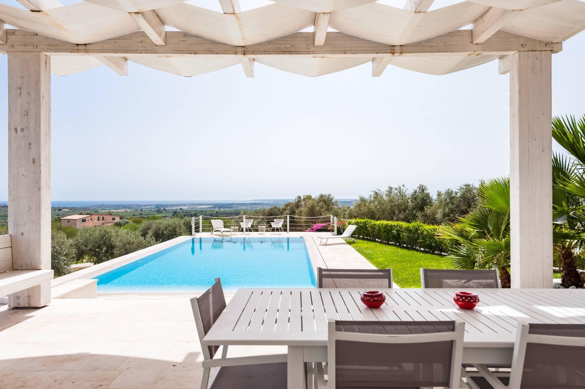 Moderne Villa mit Pool und Meerblick - 16