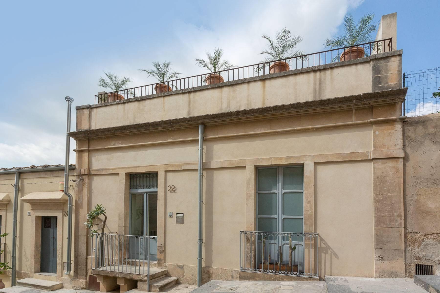 Luminoso appartamento con terrazzo nel cuore di Noto - 16