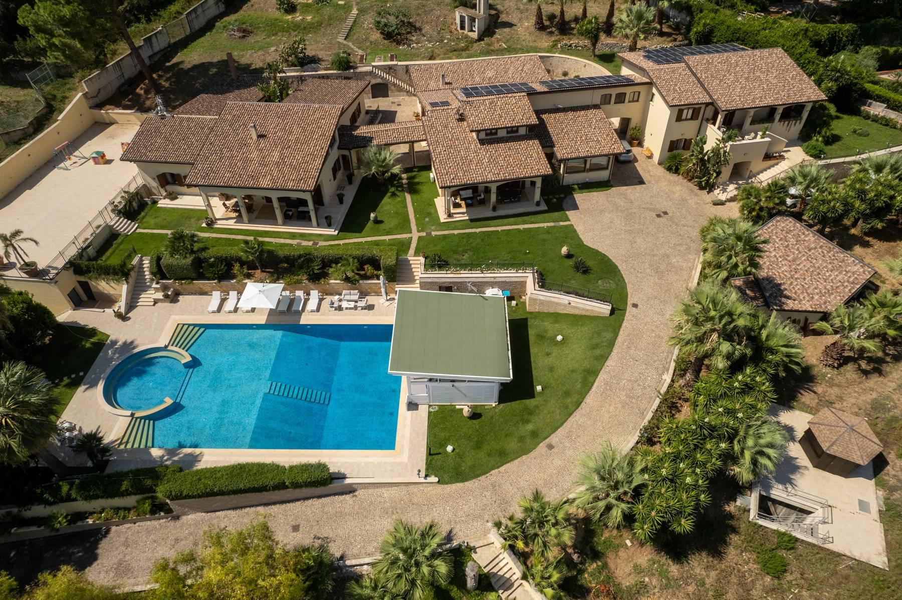 Luxurious Villa in Monreale with breathtaking views overlooking the Gulf of Palermo - 5