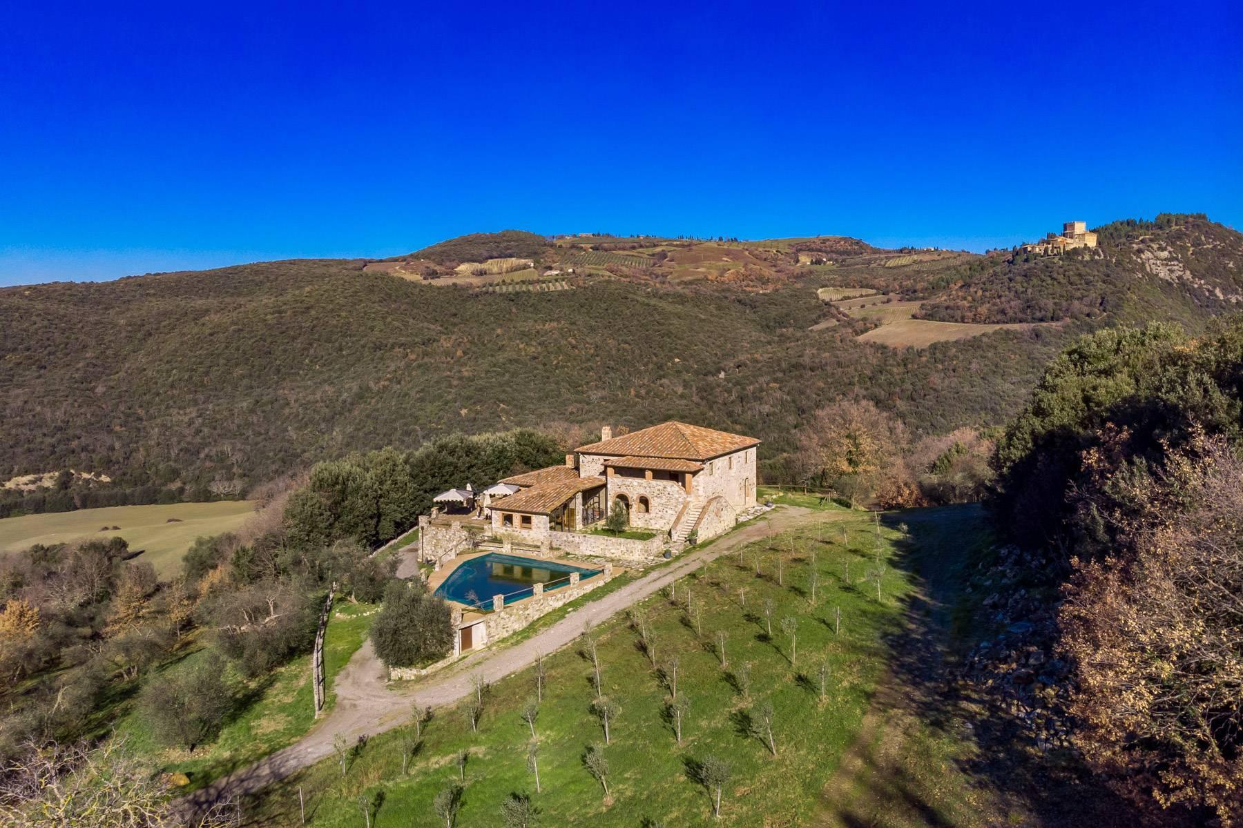 Elegantes Bauernhaus mit Pool mitten im Val D'Orcia - 37