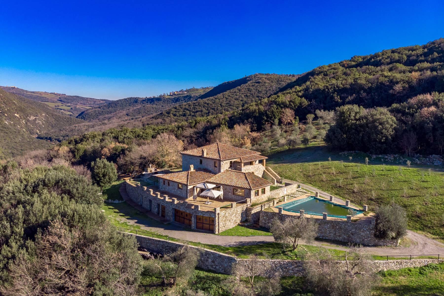 Elegantes Bauernhaus mit Pool mitten im Val D'Orcia - 1