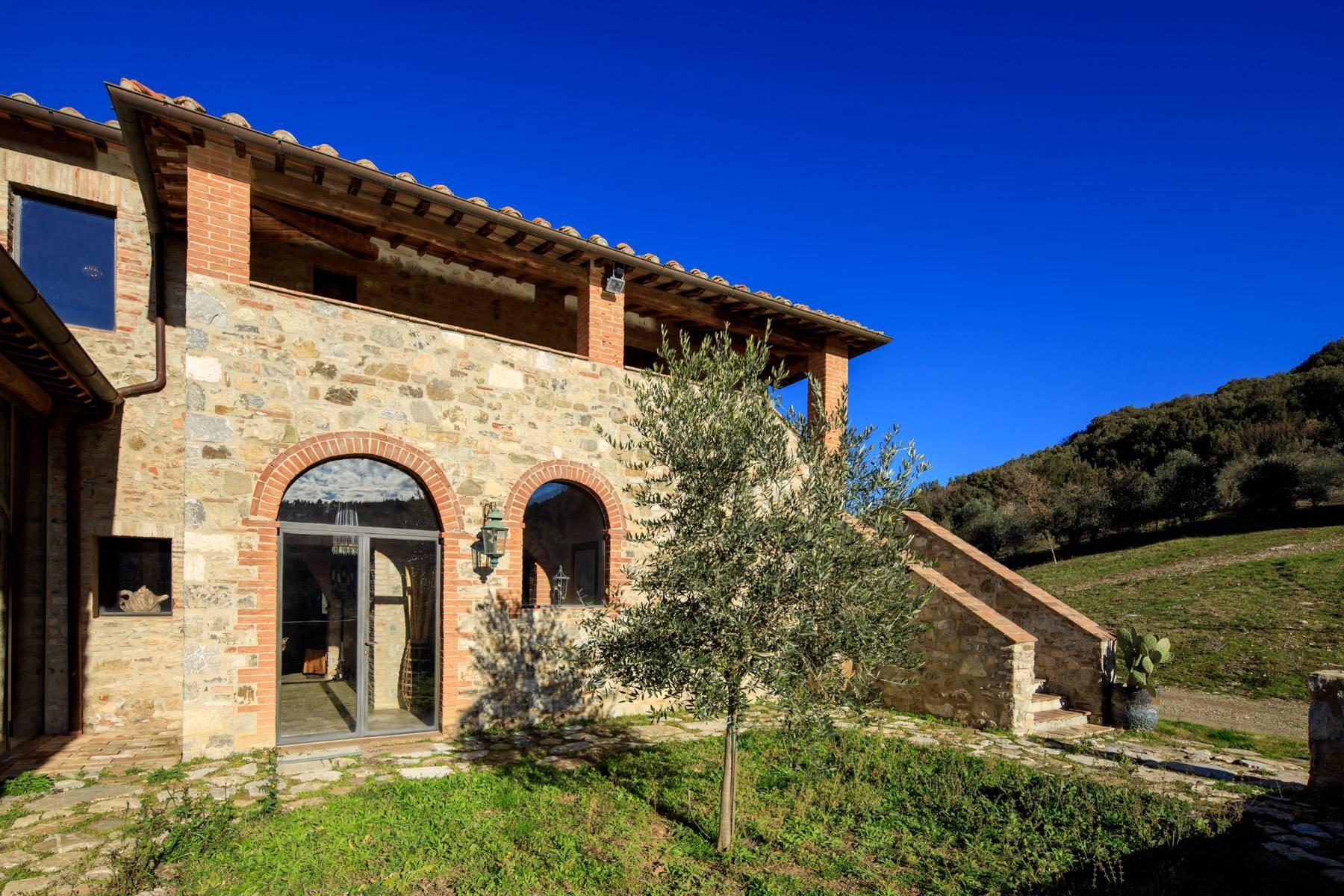 Elegantes Bauernhaus mit Pool mitten im Val D'Orcia - 38