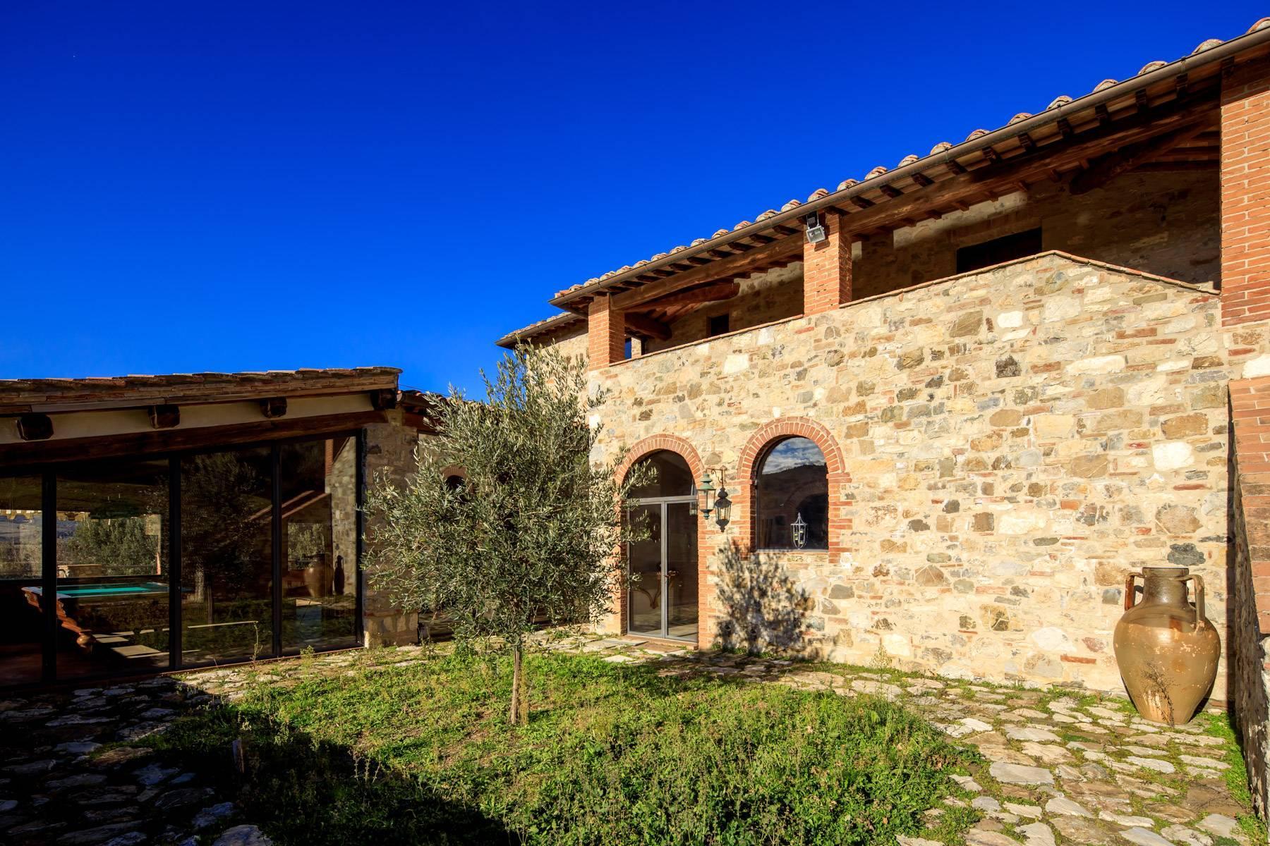 Elegantes Bauernhaus mit Pool mitten im Val D'Orcia - 6