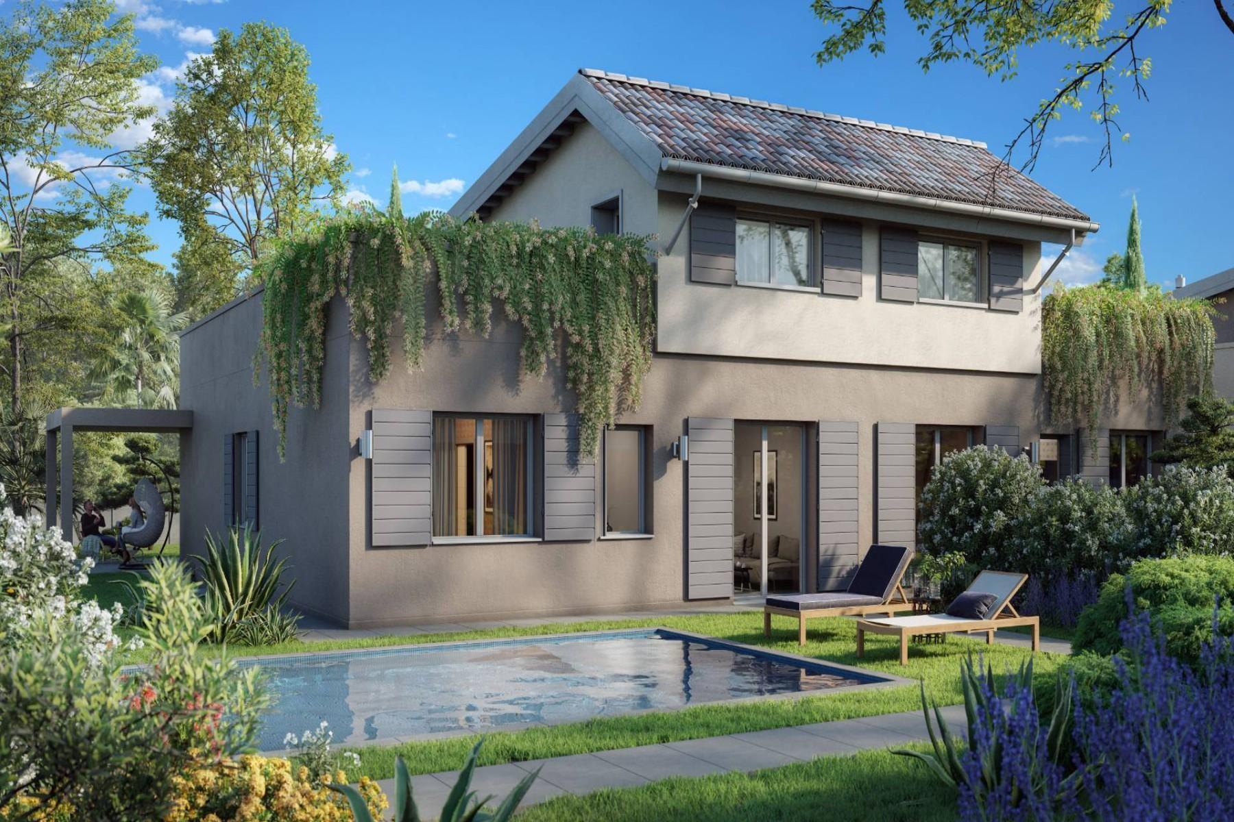 Moderne Villa im Wohnkomplex in Bauphase - 12